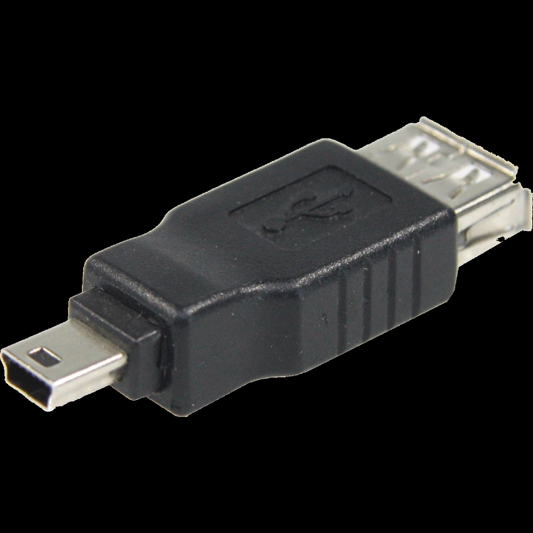 USB Adapter USB naar Mini USB