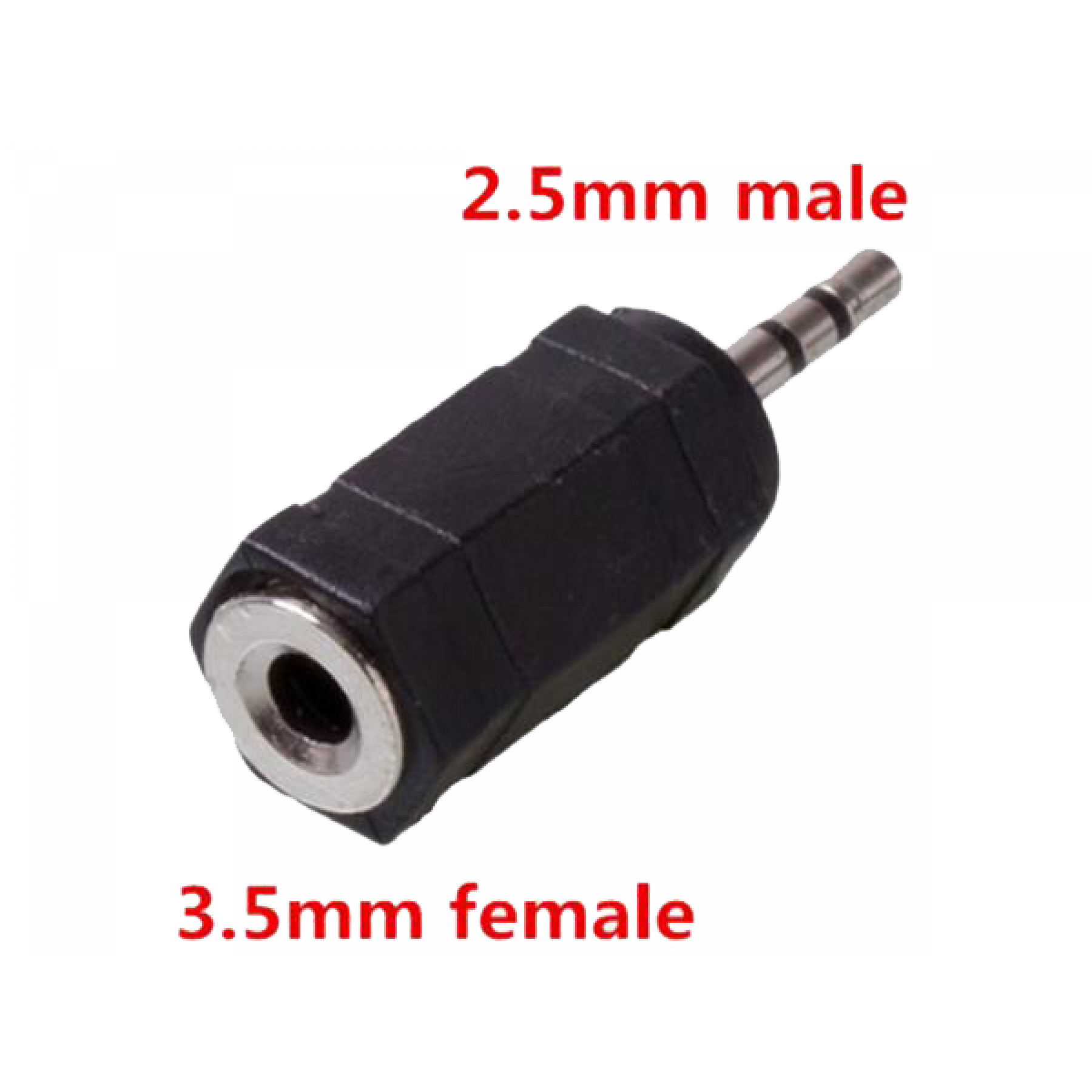 Microfoon adapter female 3,5mm > male 2,5mm