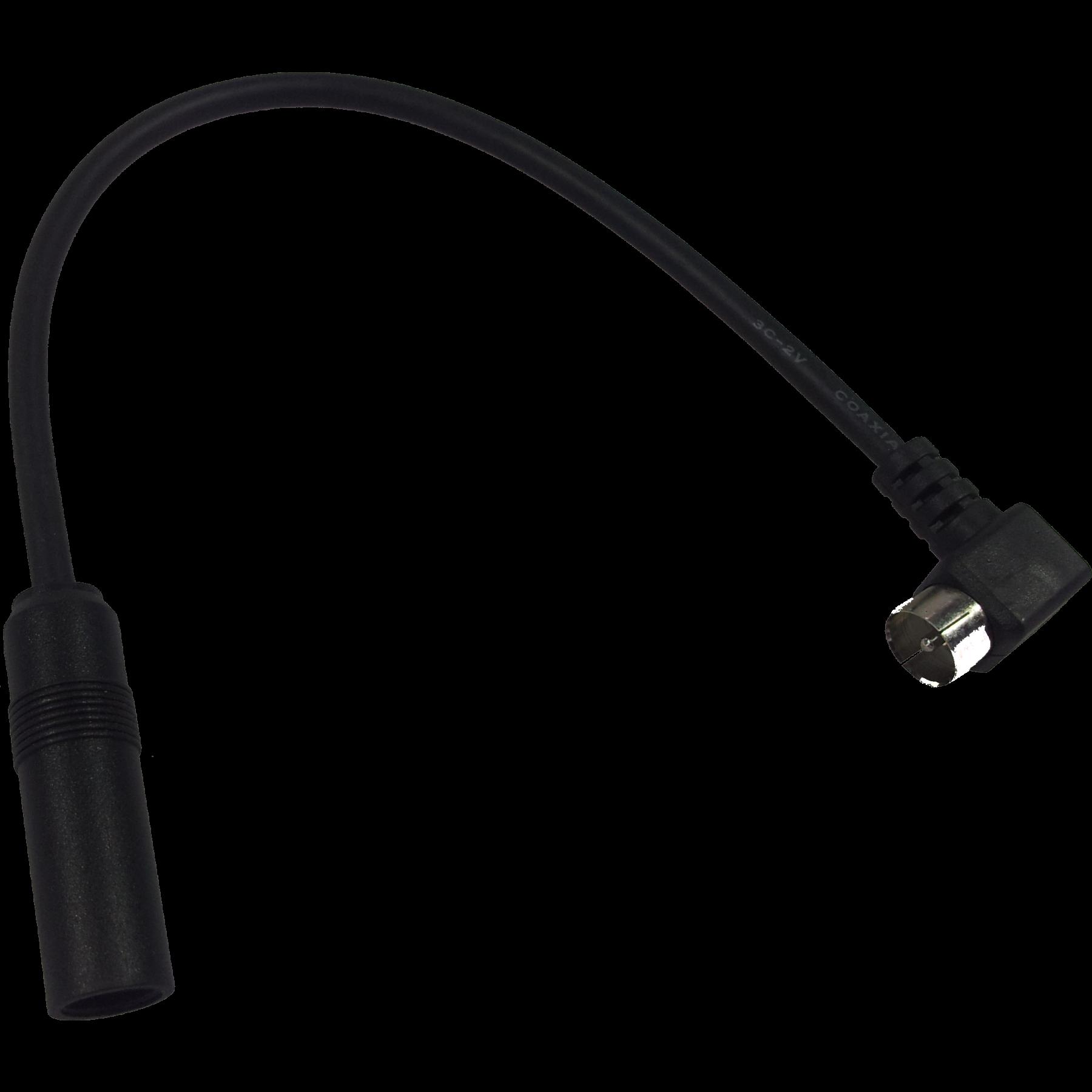 Antenne adapterkabel 11cm haaks Blaupunkt