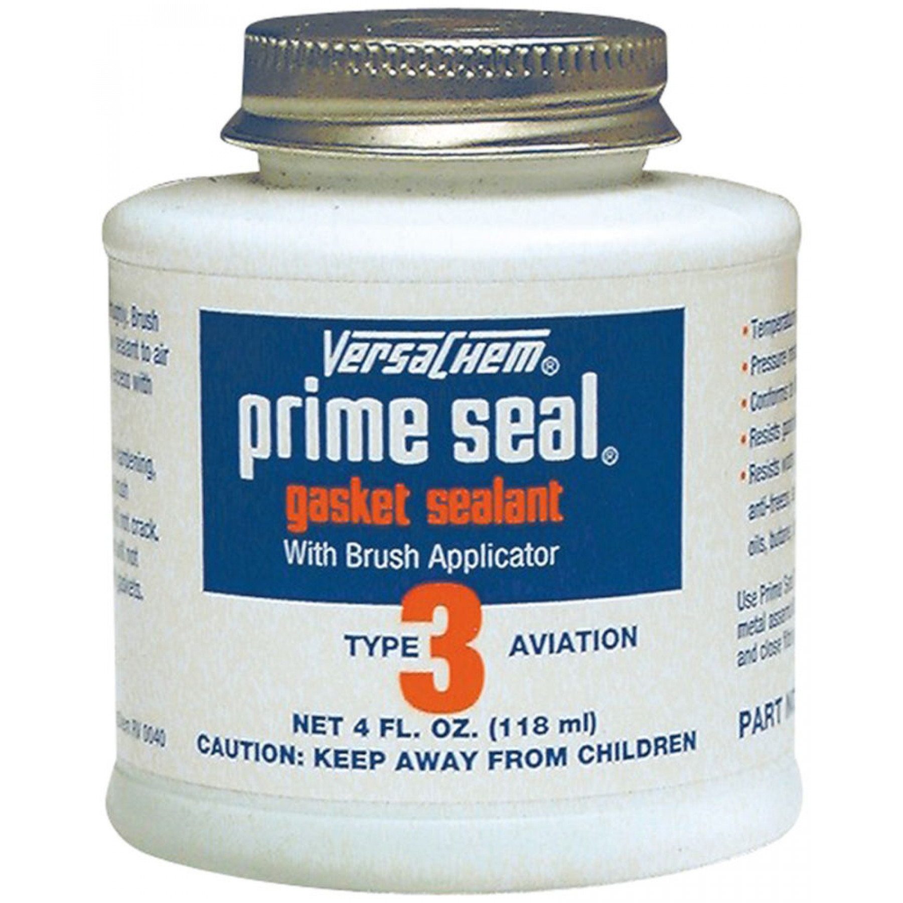 Vloeibare pakking 118ml potje Versachem prime seal