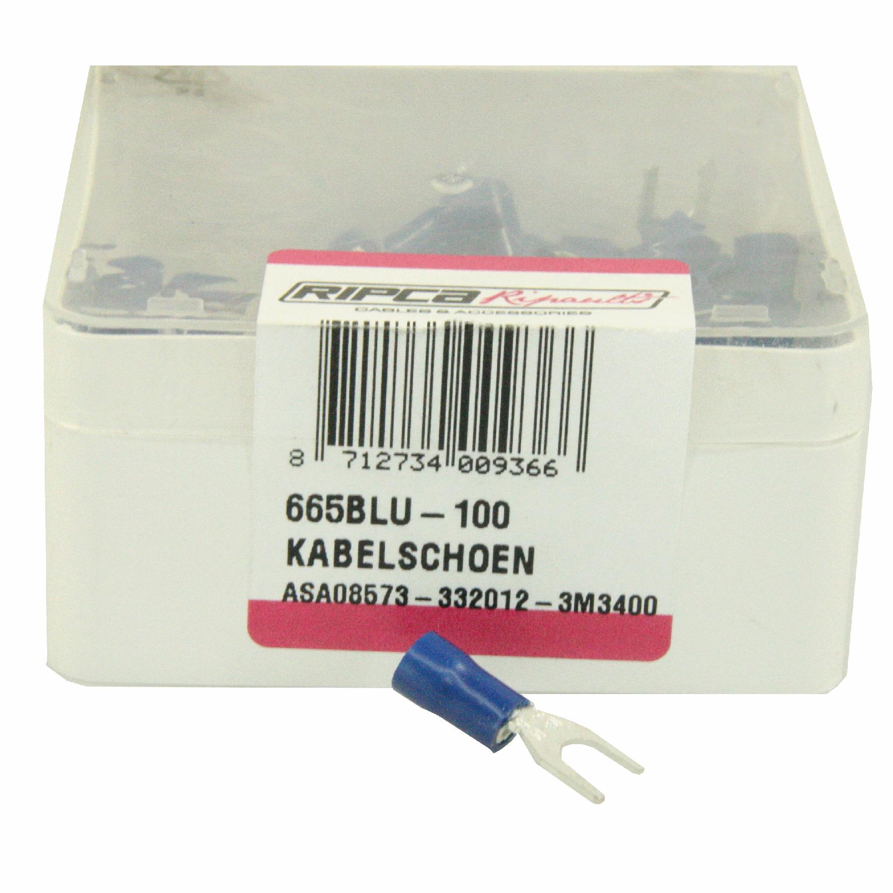 ds. Kabelschoenen 665 (100) vork 5.3 mm