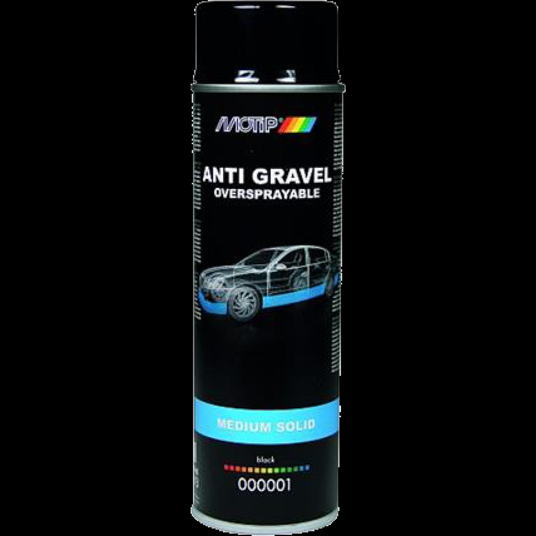 000001 Anti steenslag zwart overspuitbaar 500 ml