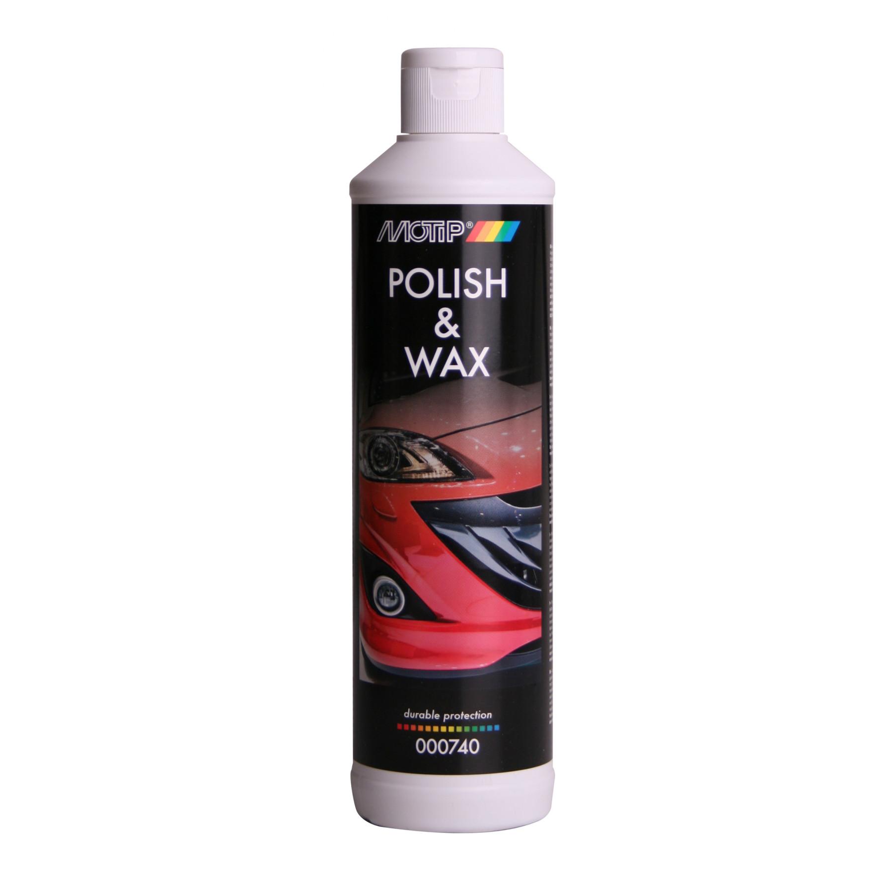 000740 Car polish + wax 500 ml.