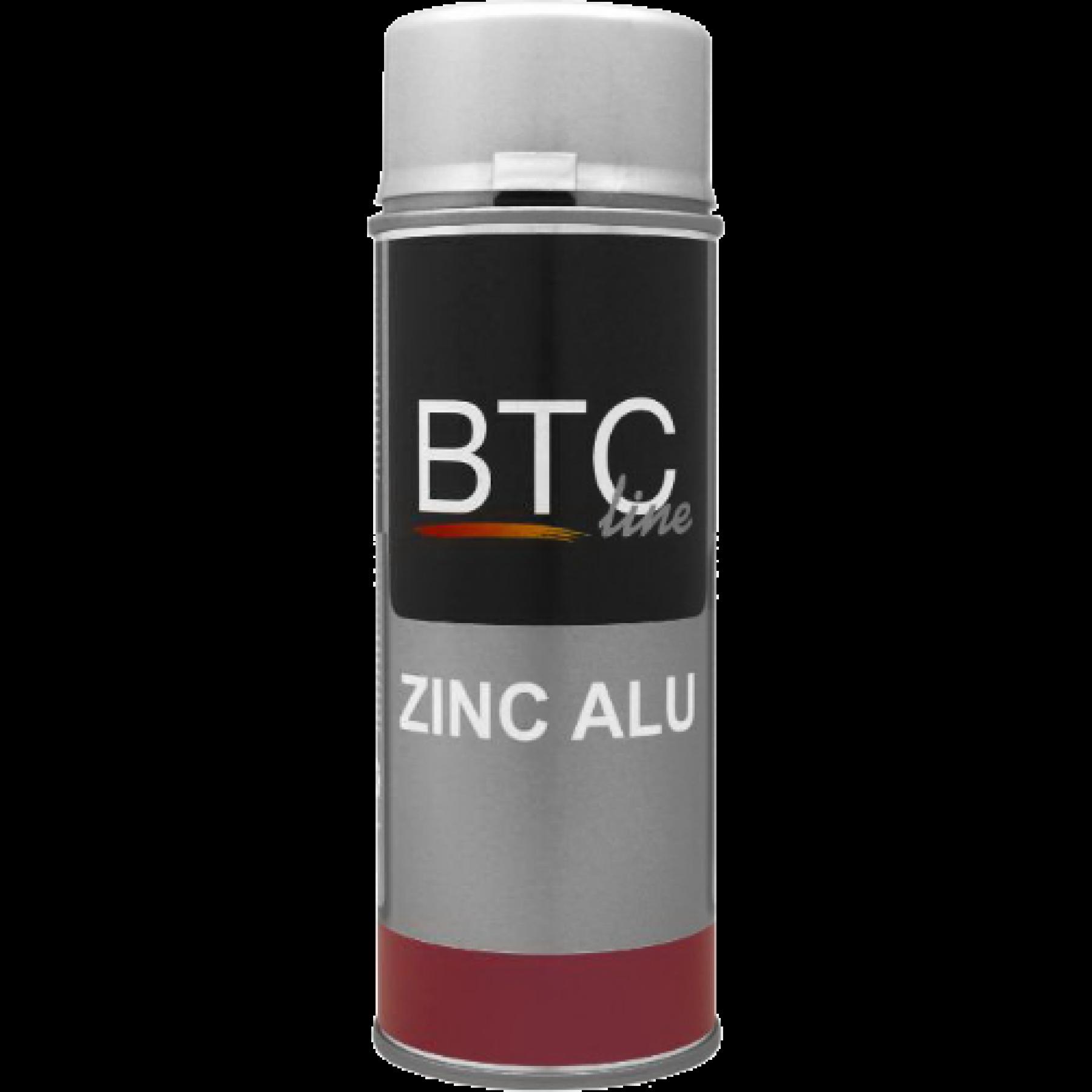 BTC8576 Zinkspray ALU (glans) 400ml.
