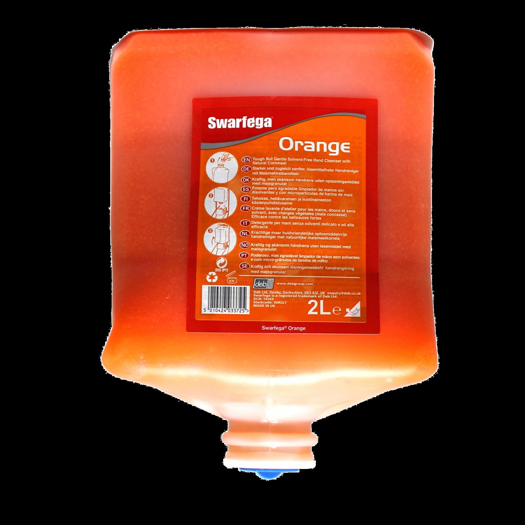 Zeep swarfega oranje 4ltr