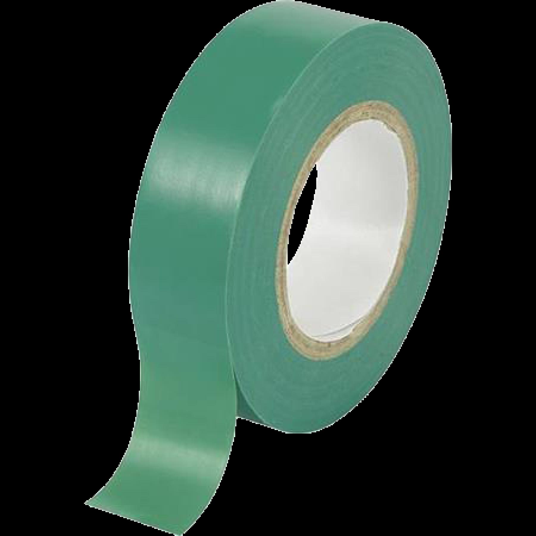 Isolatie tape groen