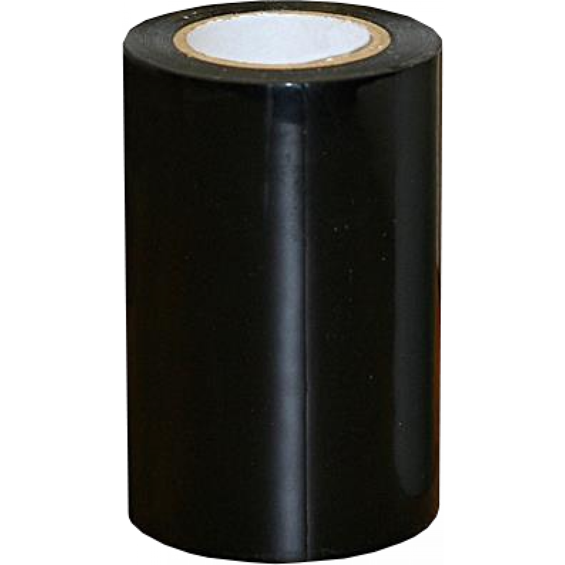 Kuiltape 10cm x10m zwart