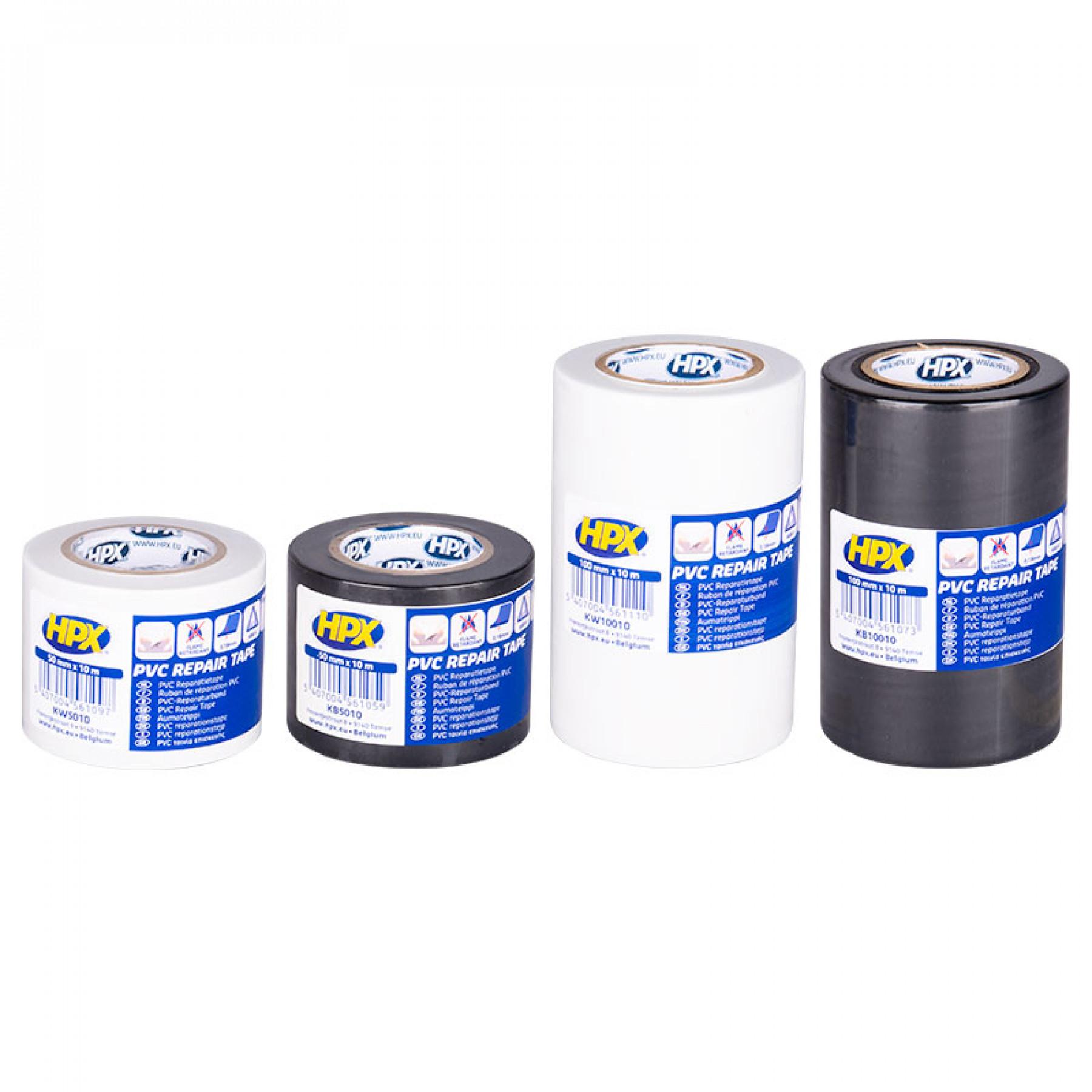 Isolatie tape 5cm x 10 mtr. zwart