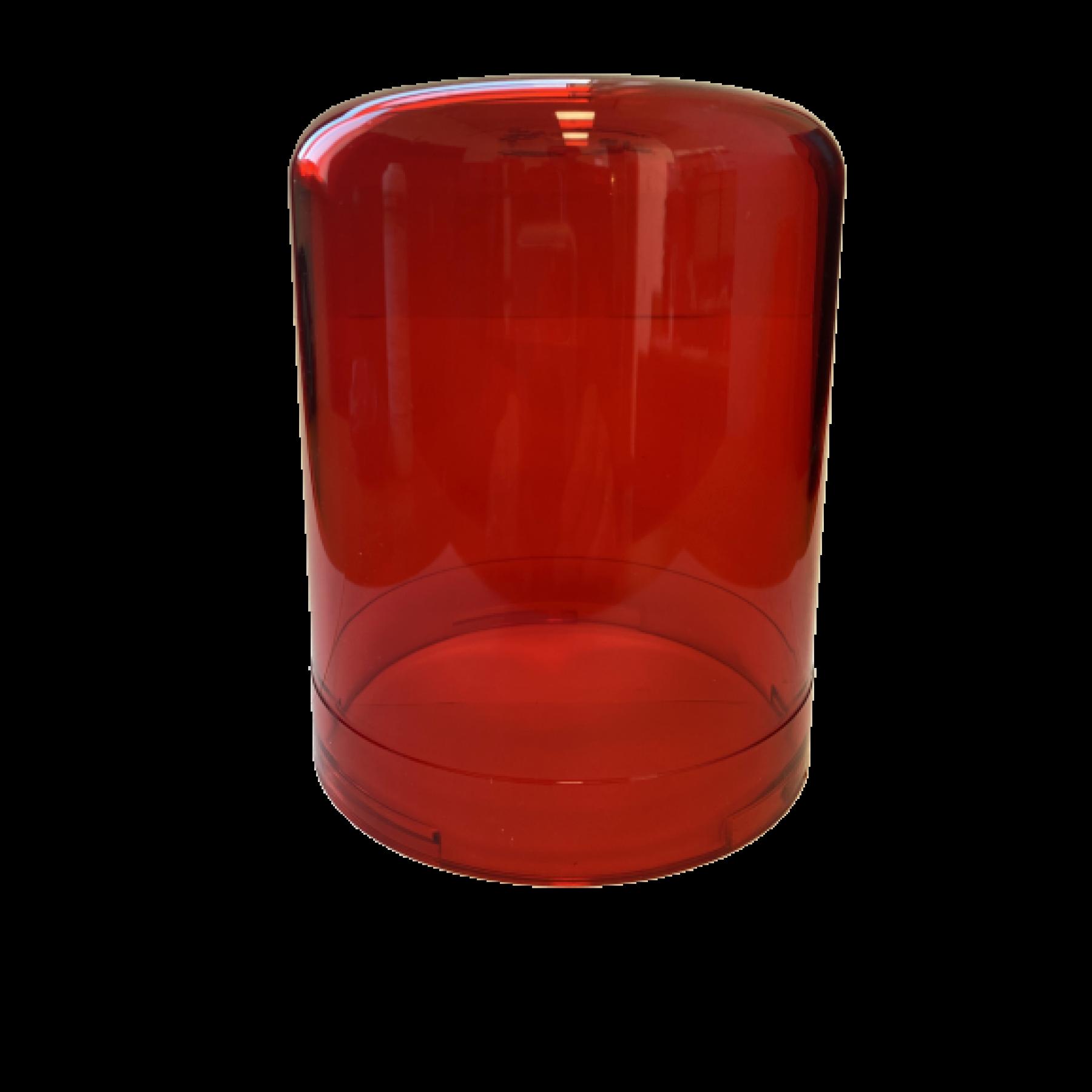 Reserveglas rood voor zwaailamp 22310022/24