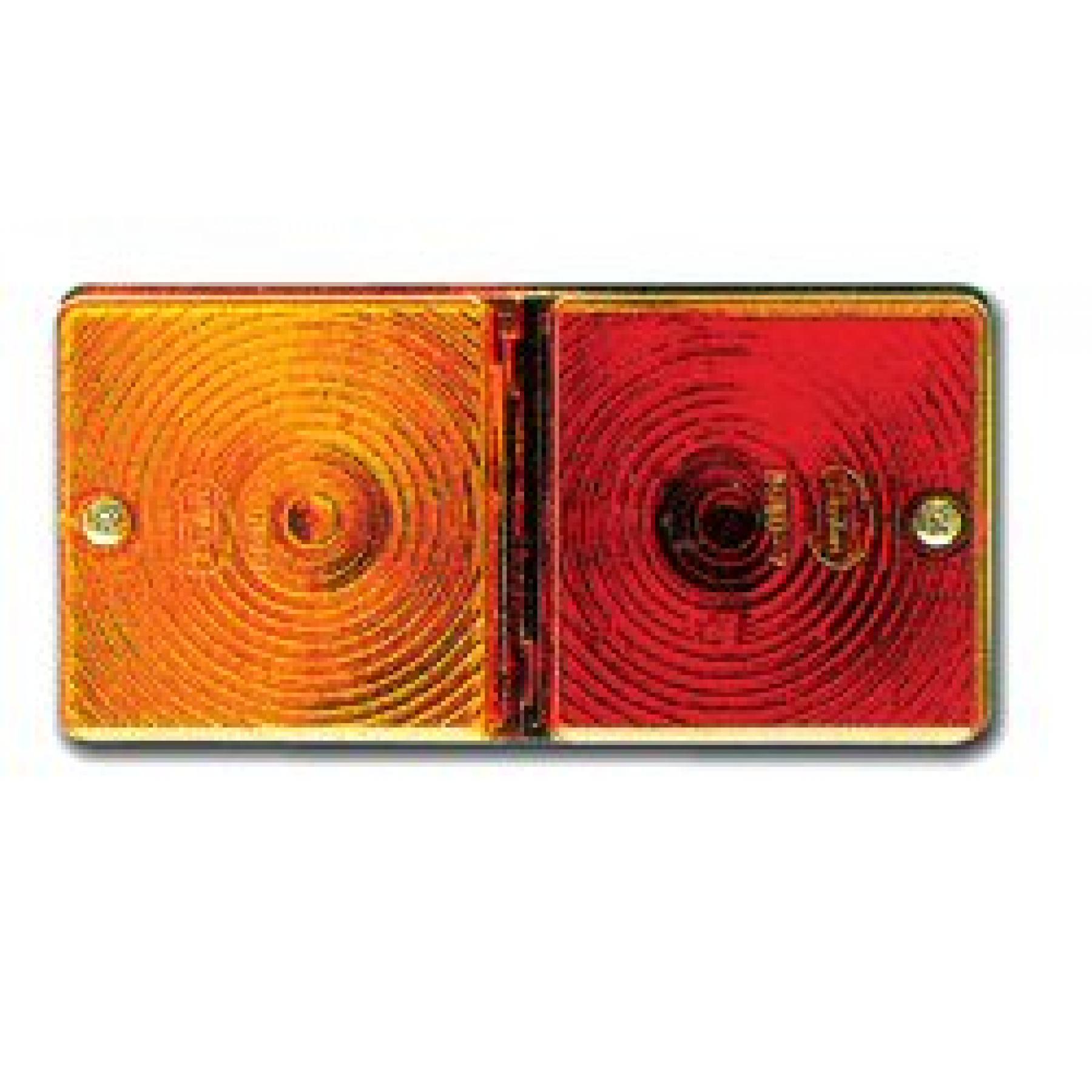 Achterlichtglas voor 8080/70 links en rechts