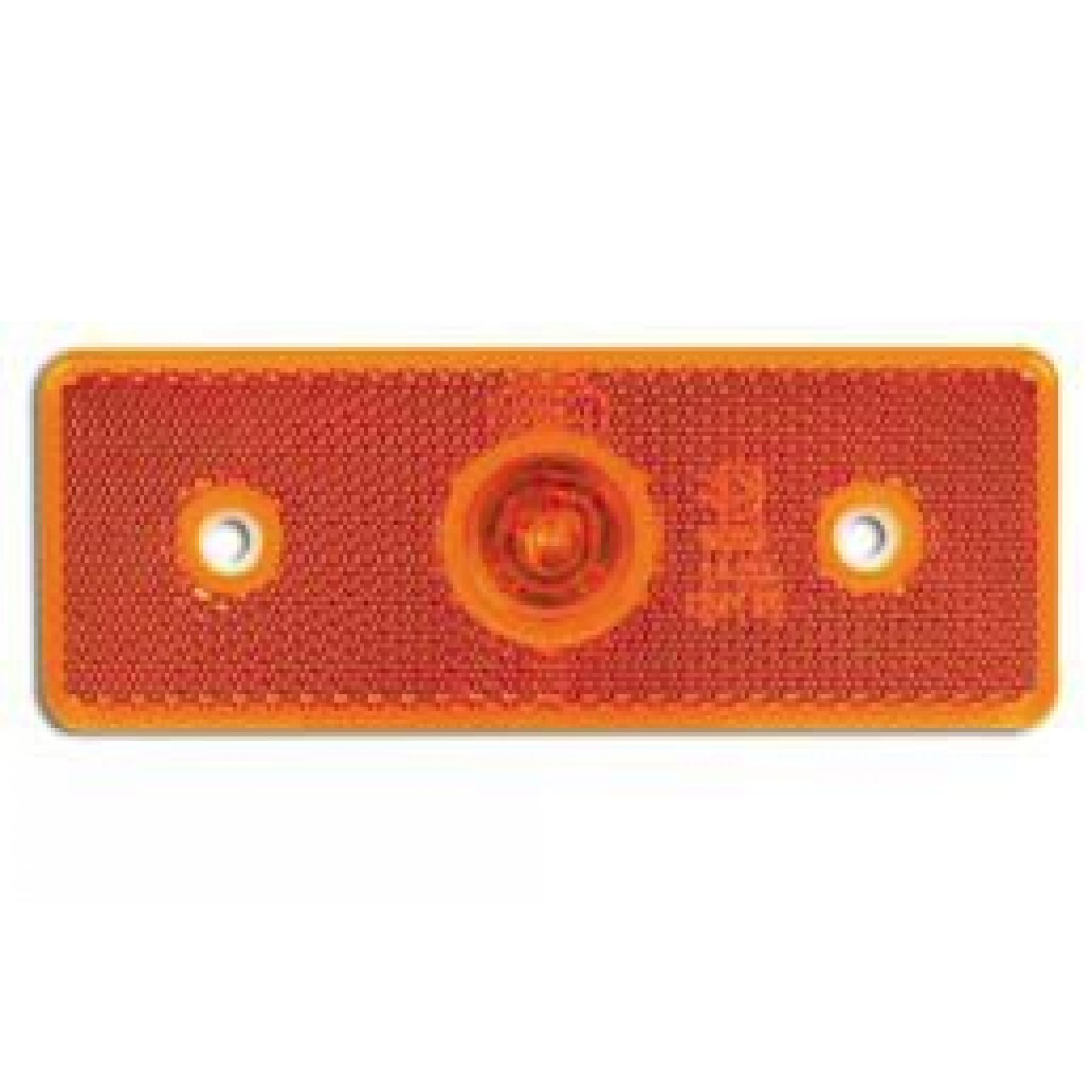 Markeringslamp 1 LED oranje 24v