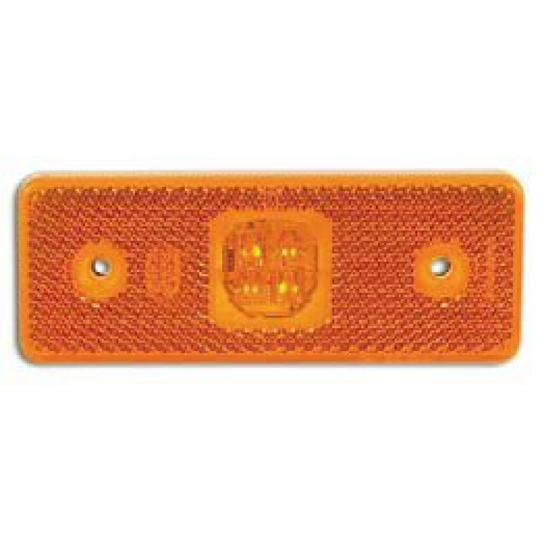 Markeringslamp LED oranje 4 led 12/24v