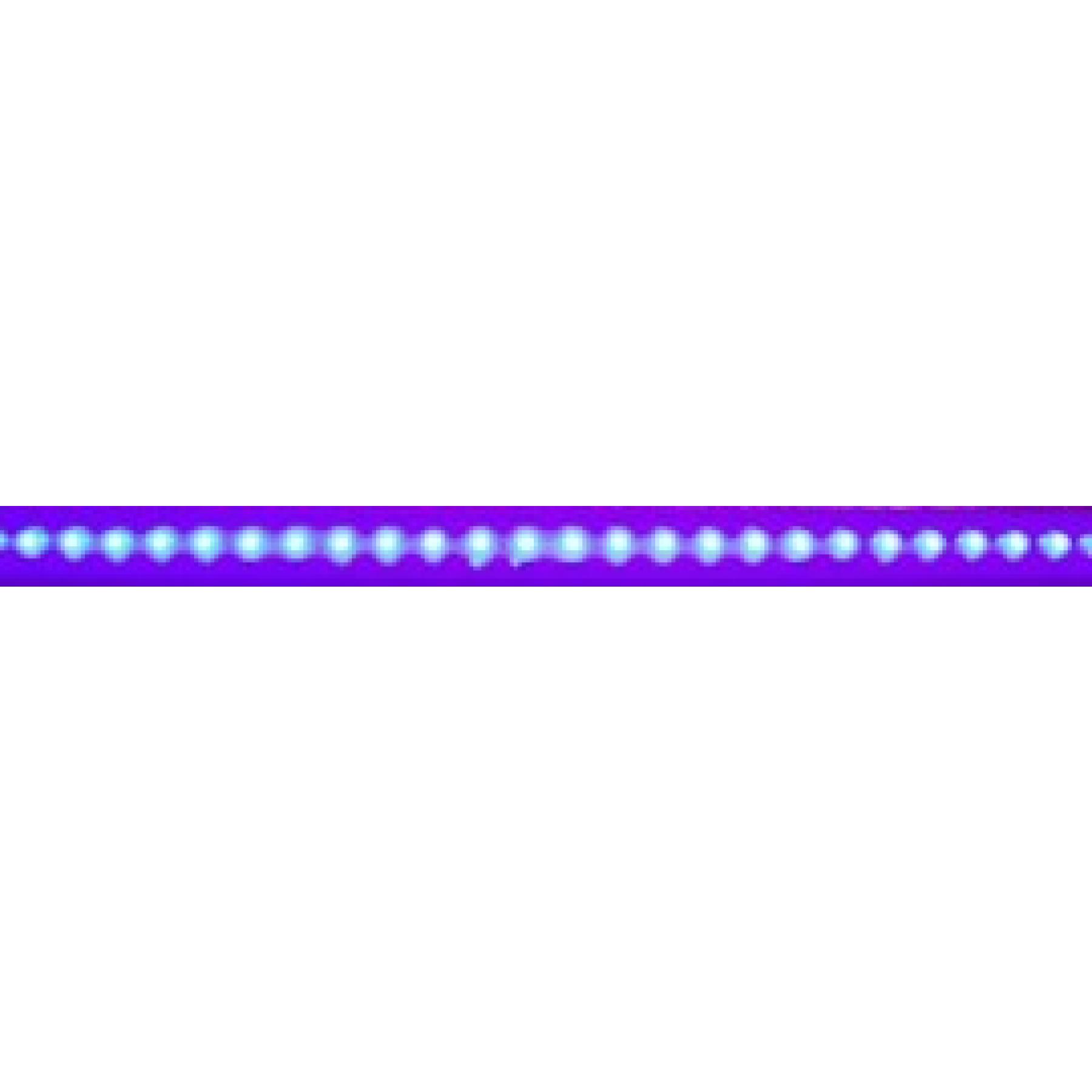 Interieurlamp LED blauw 610x35x15mm 12v