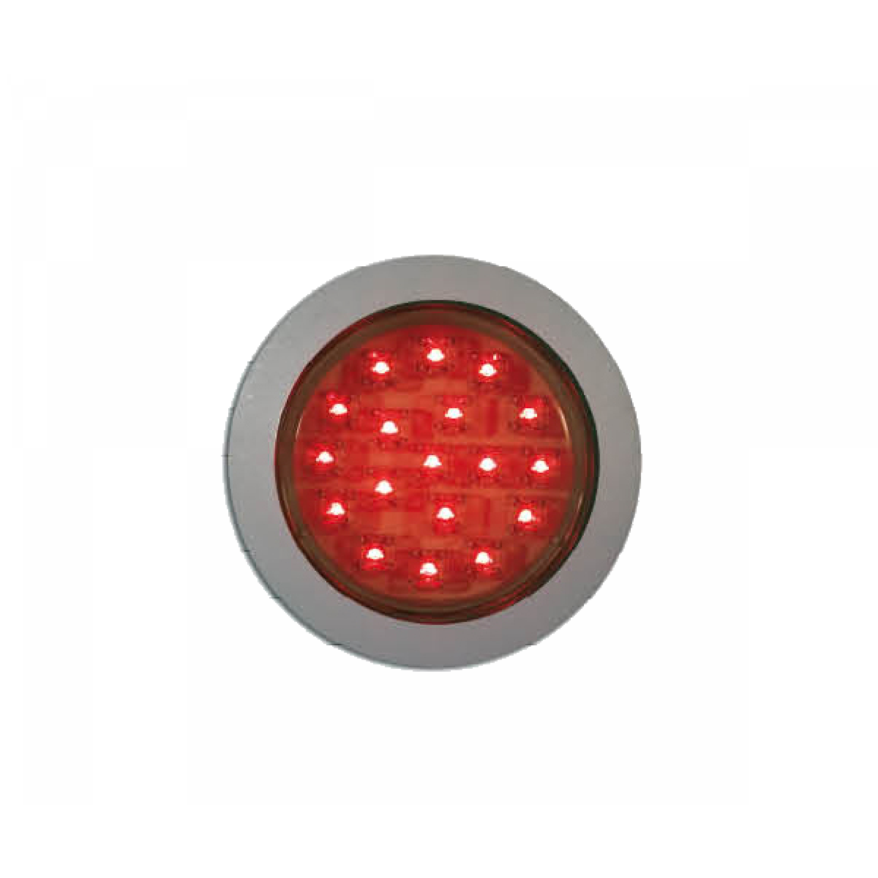Interieurlamp LED rood Ø 55mm 24v