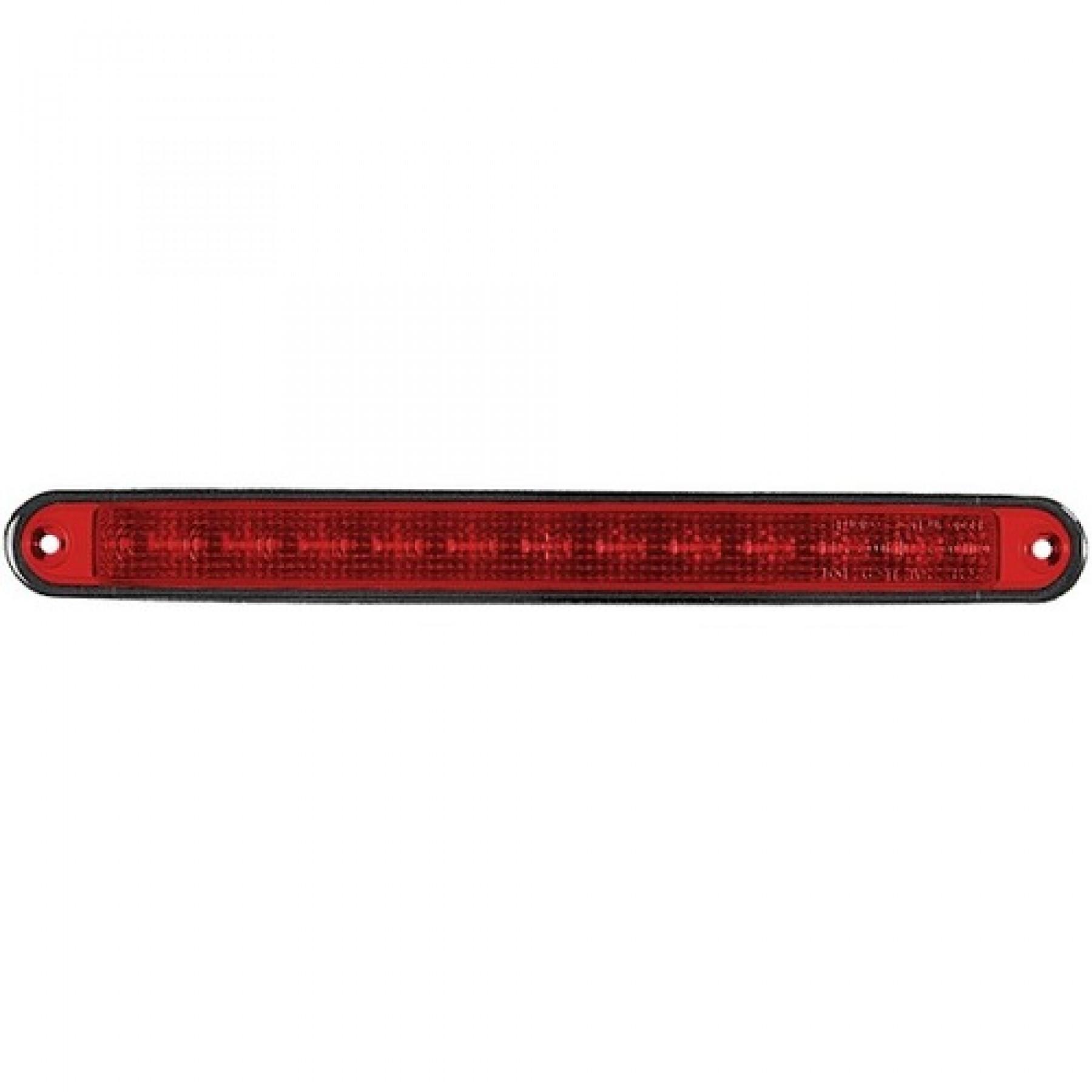 Derde remlicht LED 24v 283x24 12 led