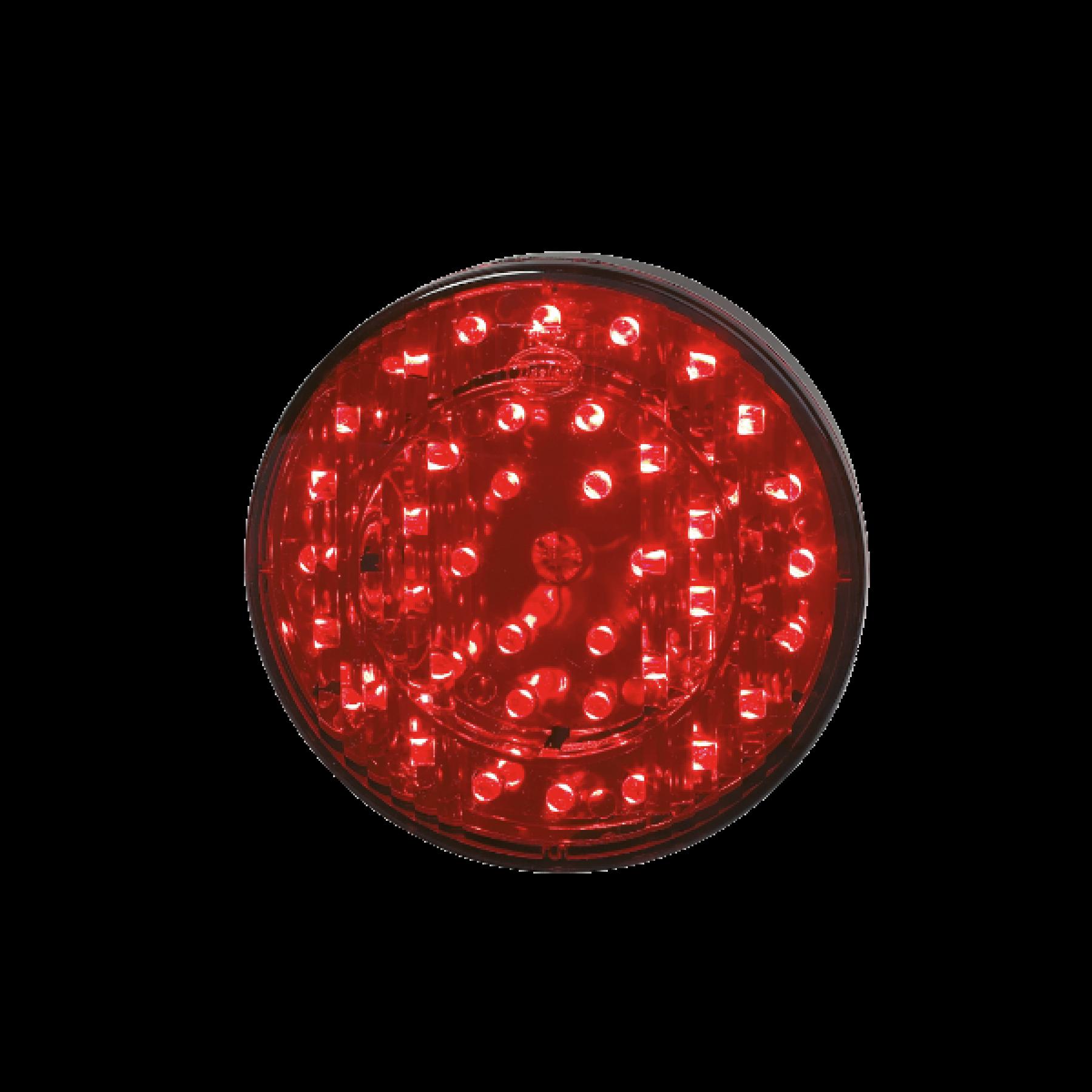Achterlicht + mistlicht LED rond Ø 103mm 24v