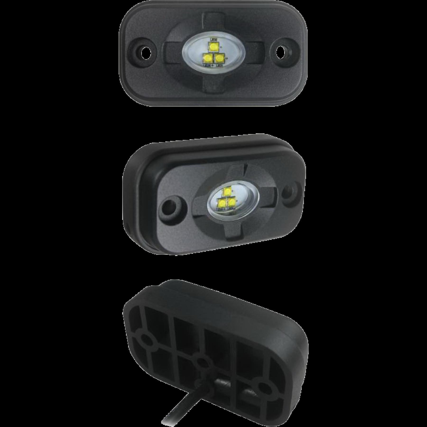LED werklamp 15W 3 leds (opbouw, niet verstelb.)