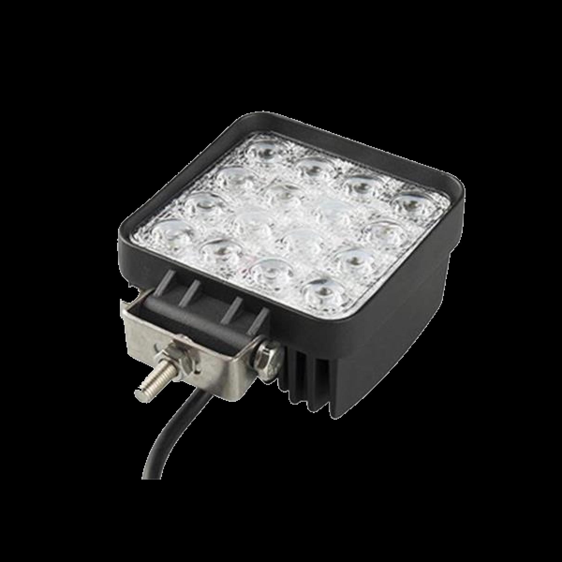 Led werklamp 48w 16 LED's