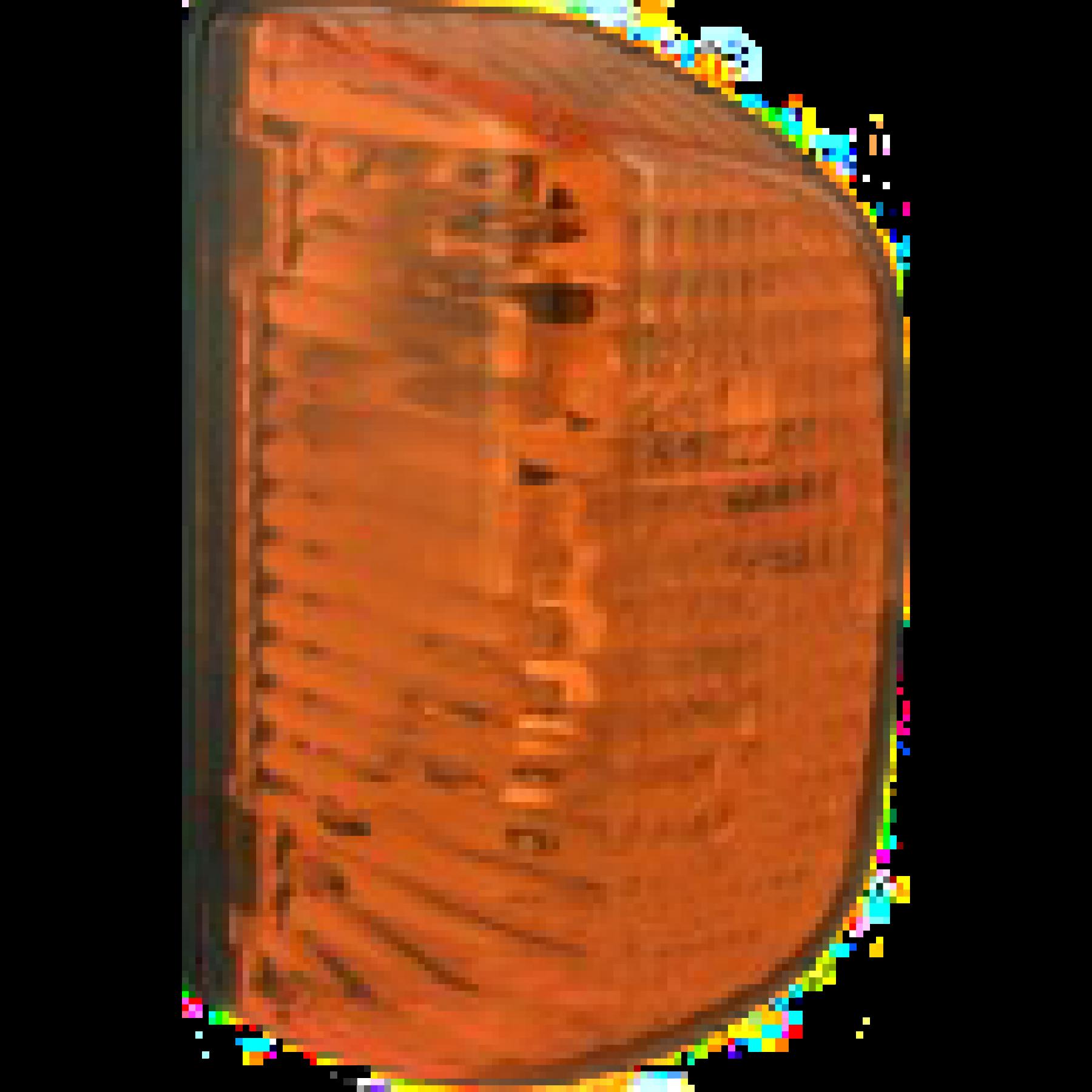 Oranje zijlamp 24000
