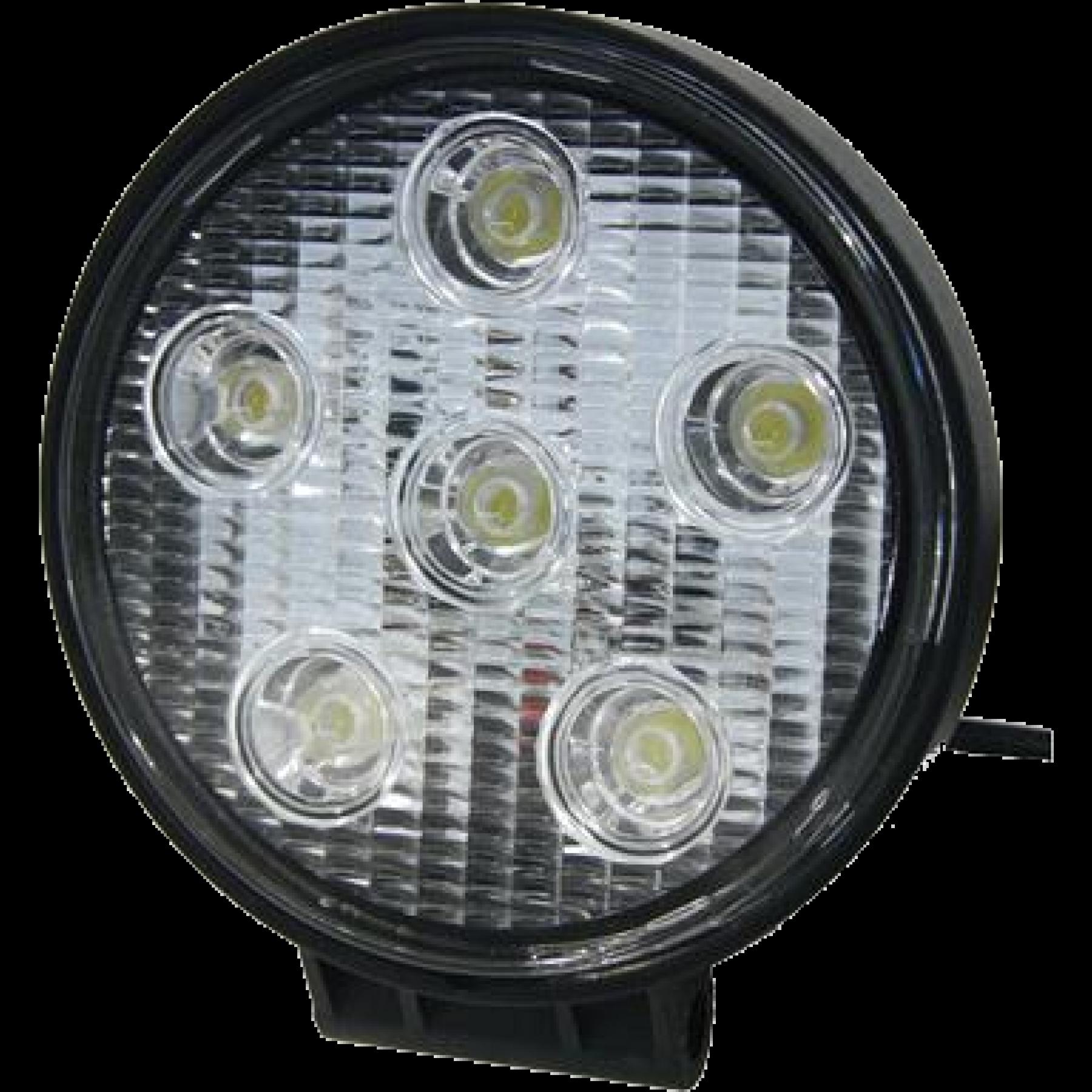 Led werklamp 12v rond 18w