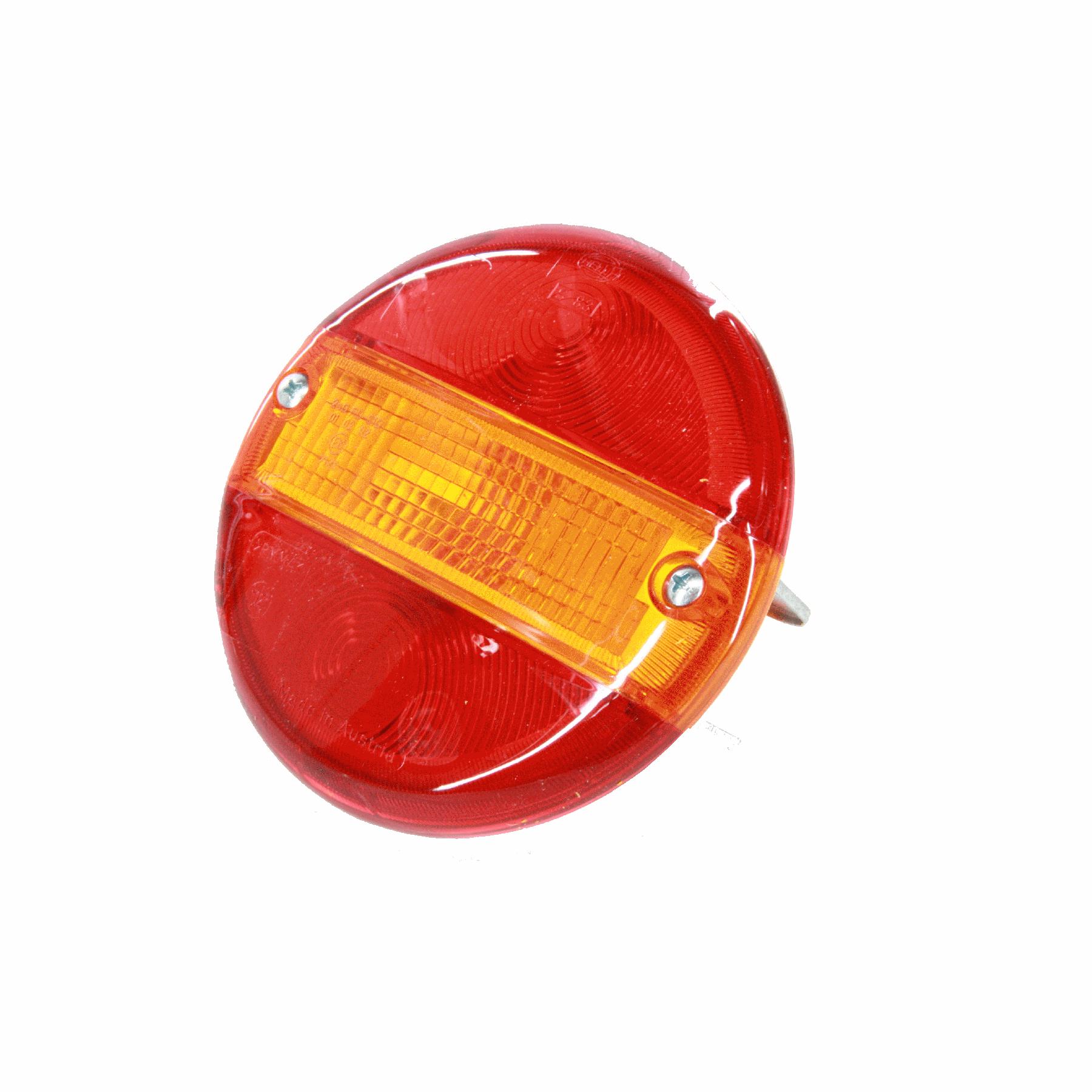 Achterlichtglas 140mm rond Hella