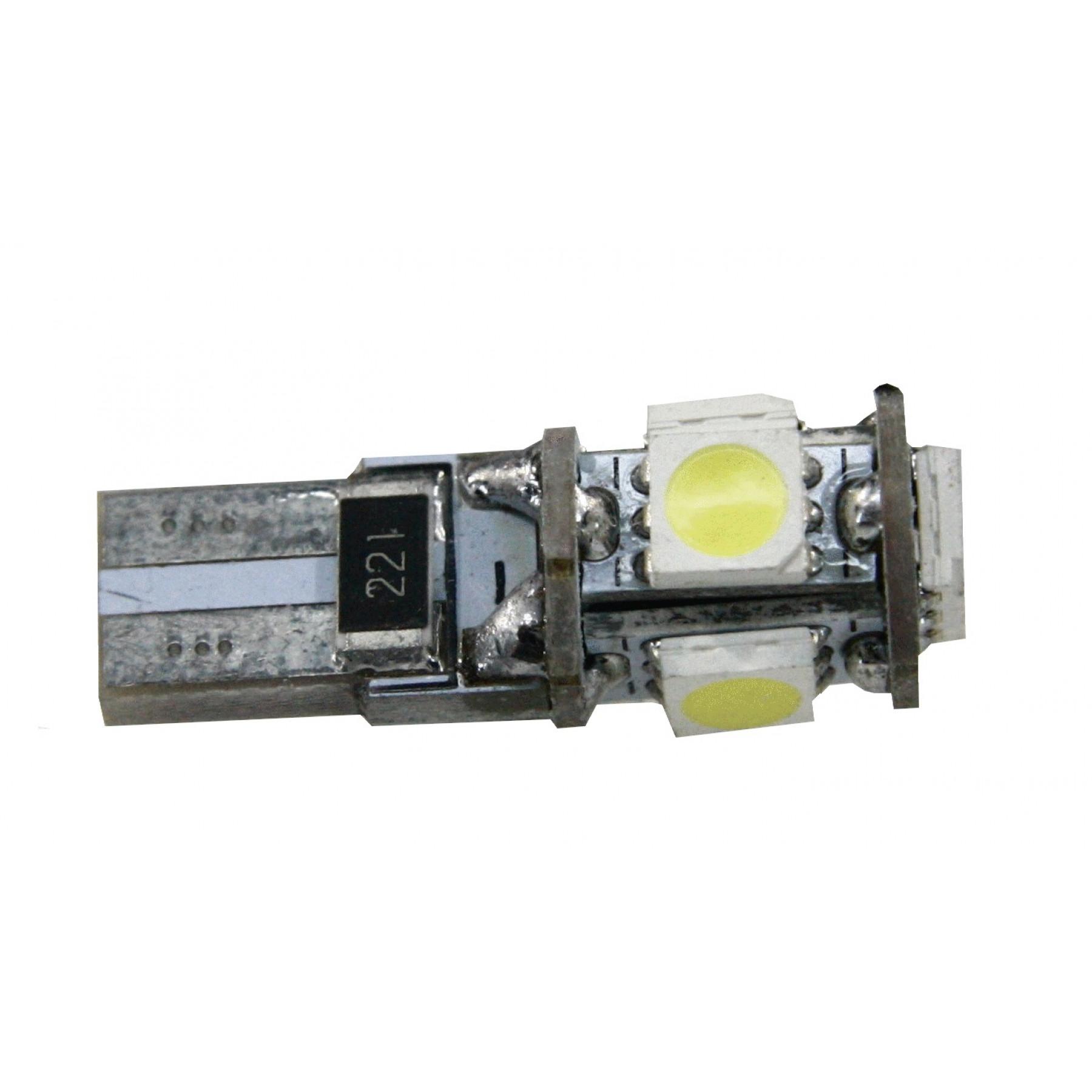 LED lamp T10 steek canbus, storingsvrij, zonder lens