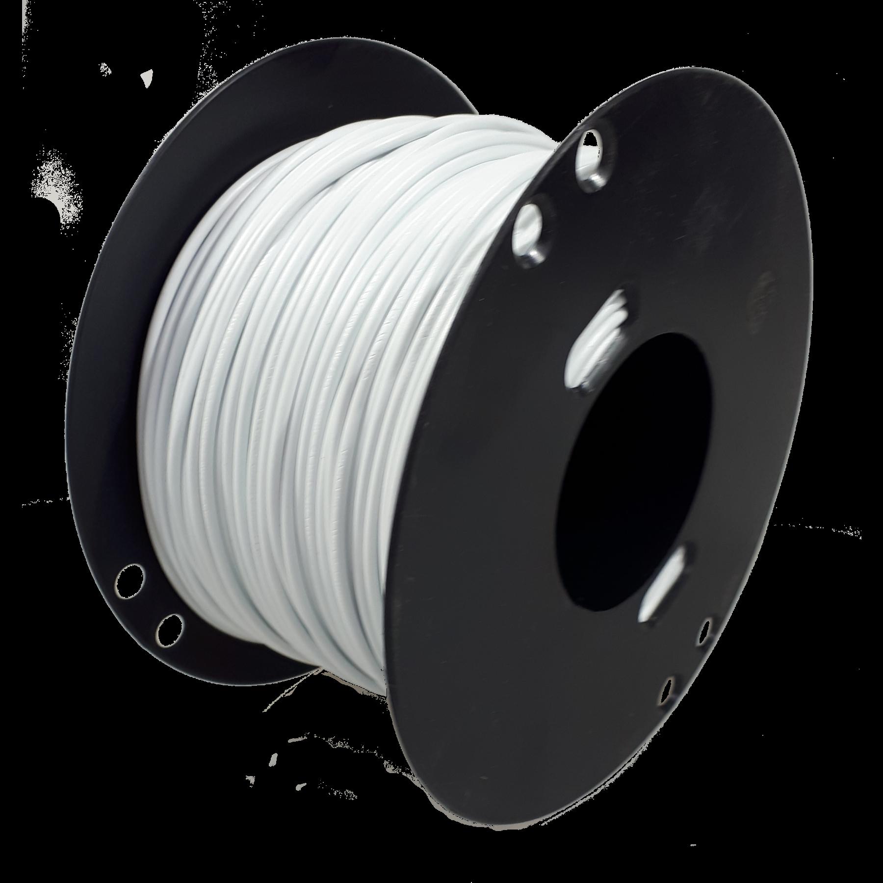 Kabel 1,5 wit 100m haspel