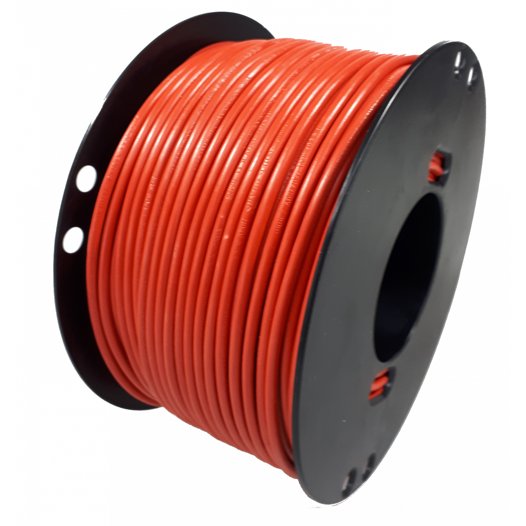 Kabel 2,5 rood 100m haspel