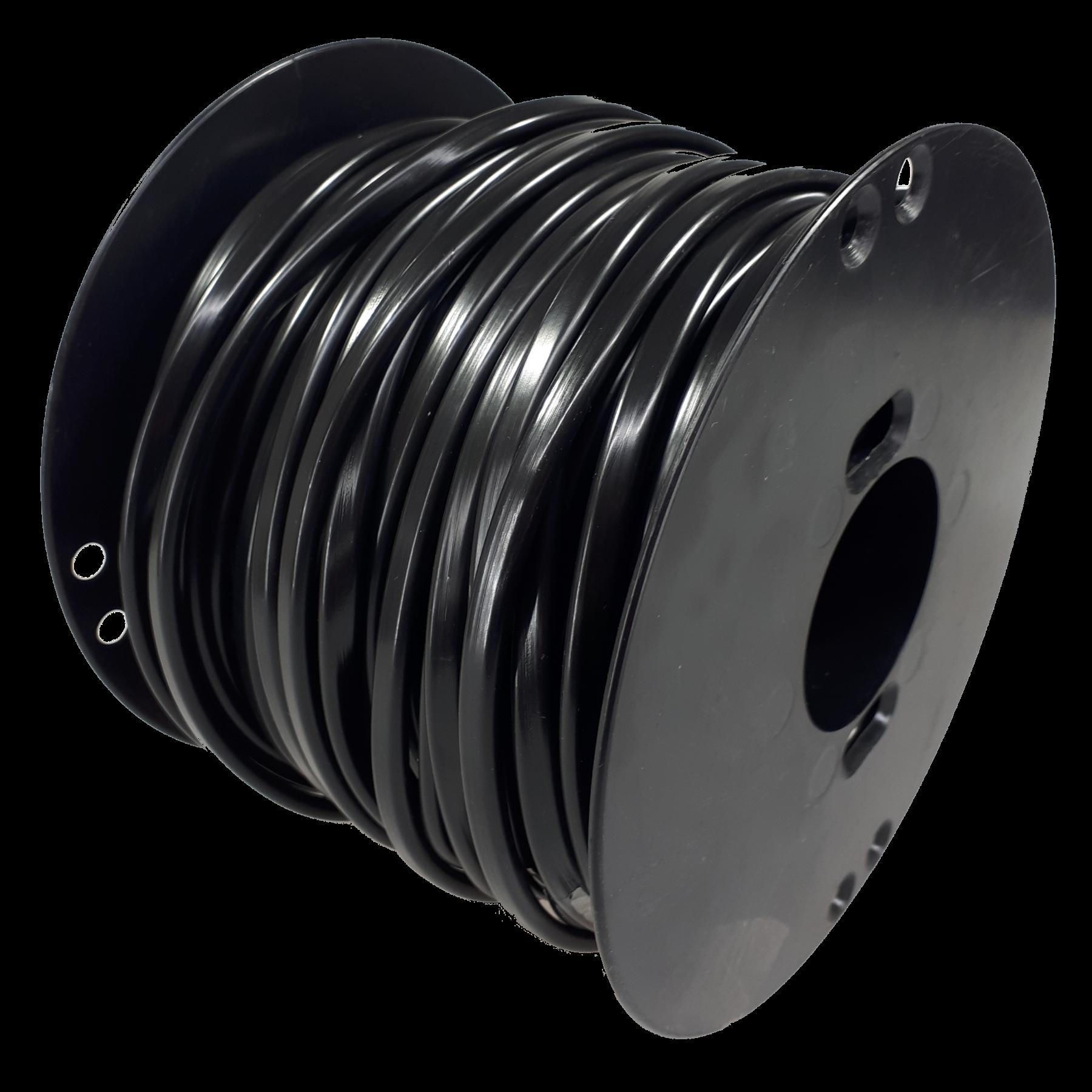 Kabel 2x2,5 plat 50m haspel