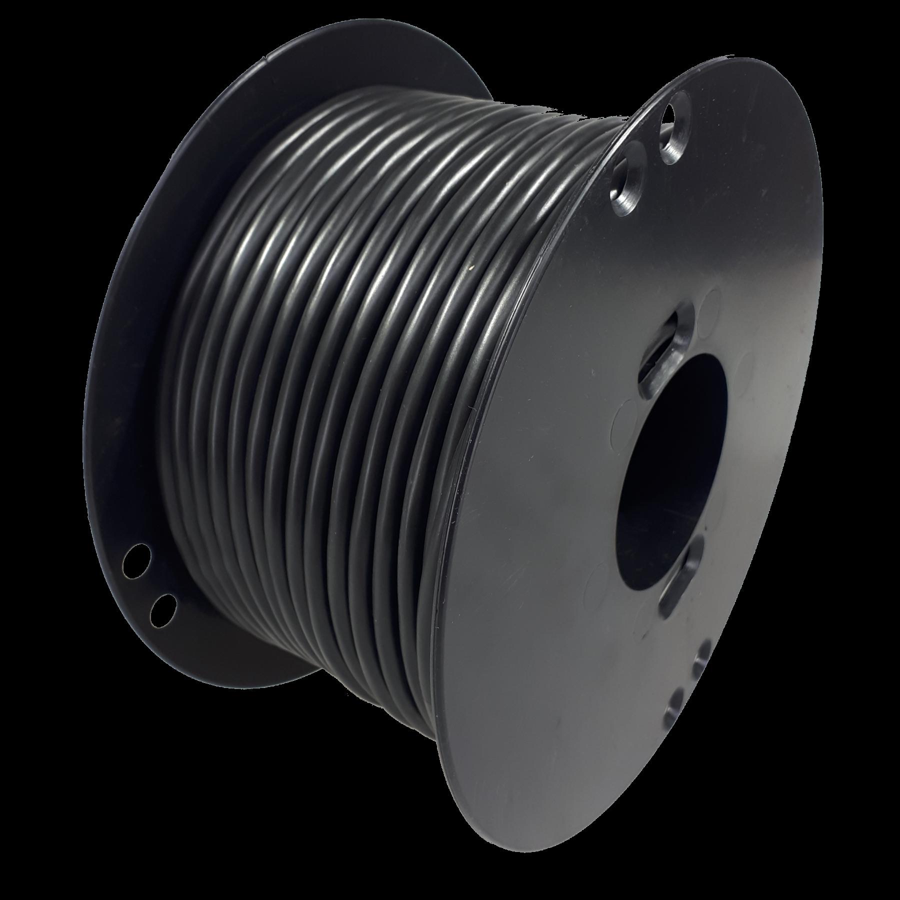 Kabel 2x1,0mmq rond 50m haspel
