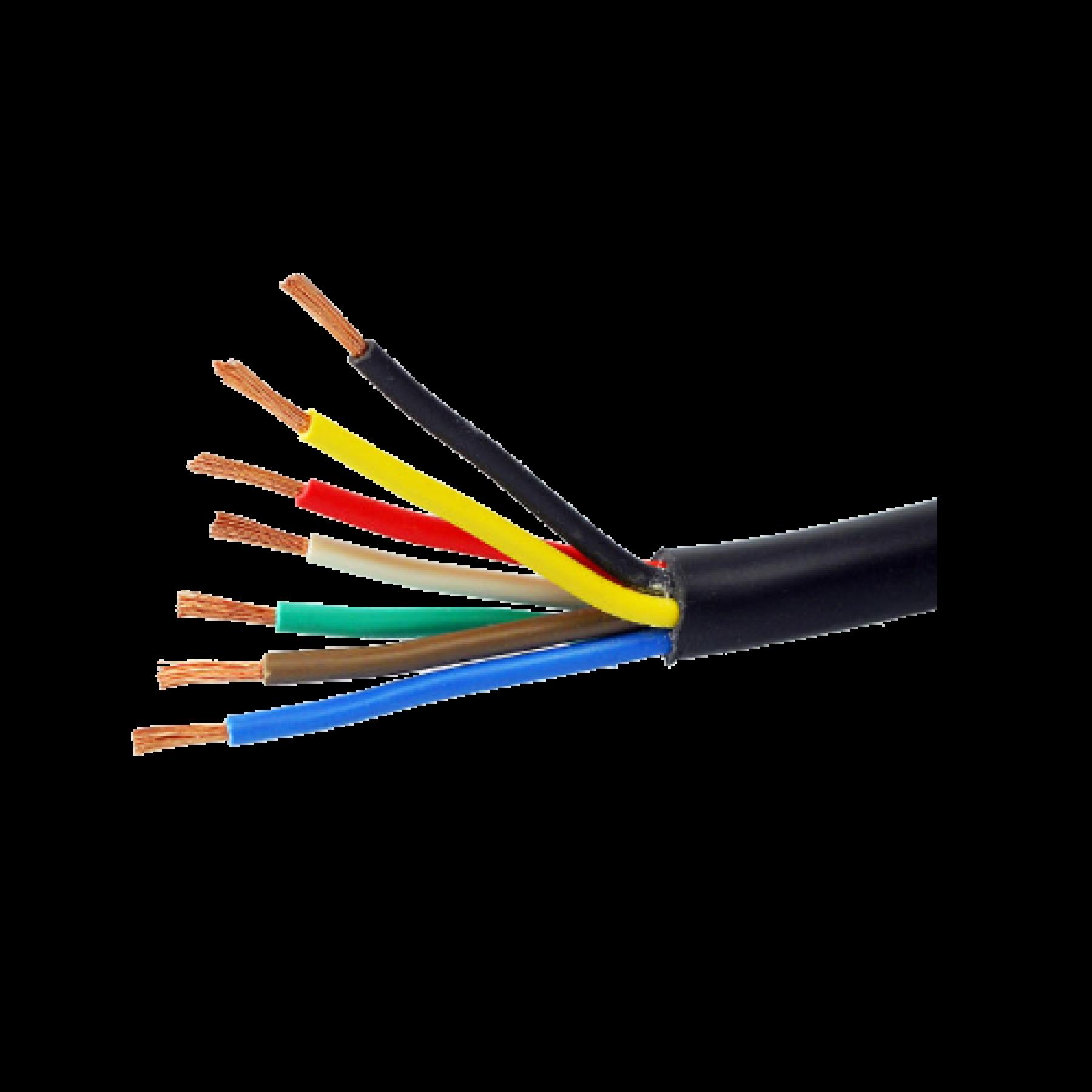 Kabel 7x1mmq rond 50m