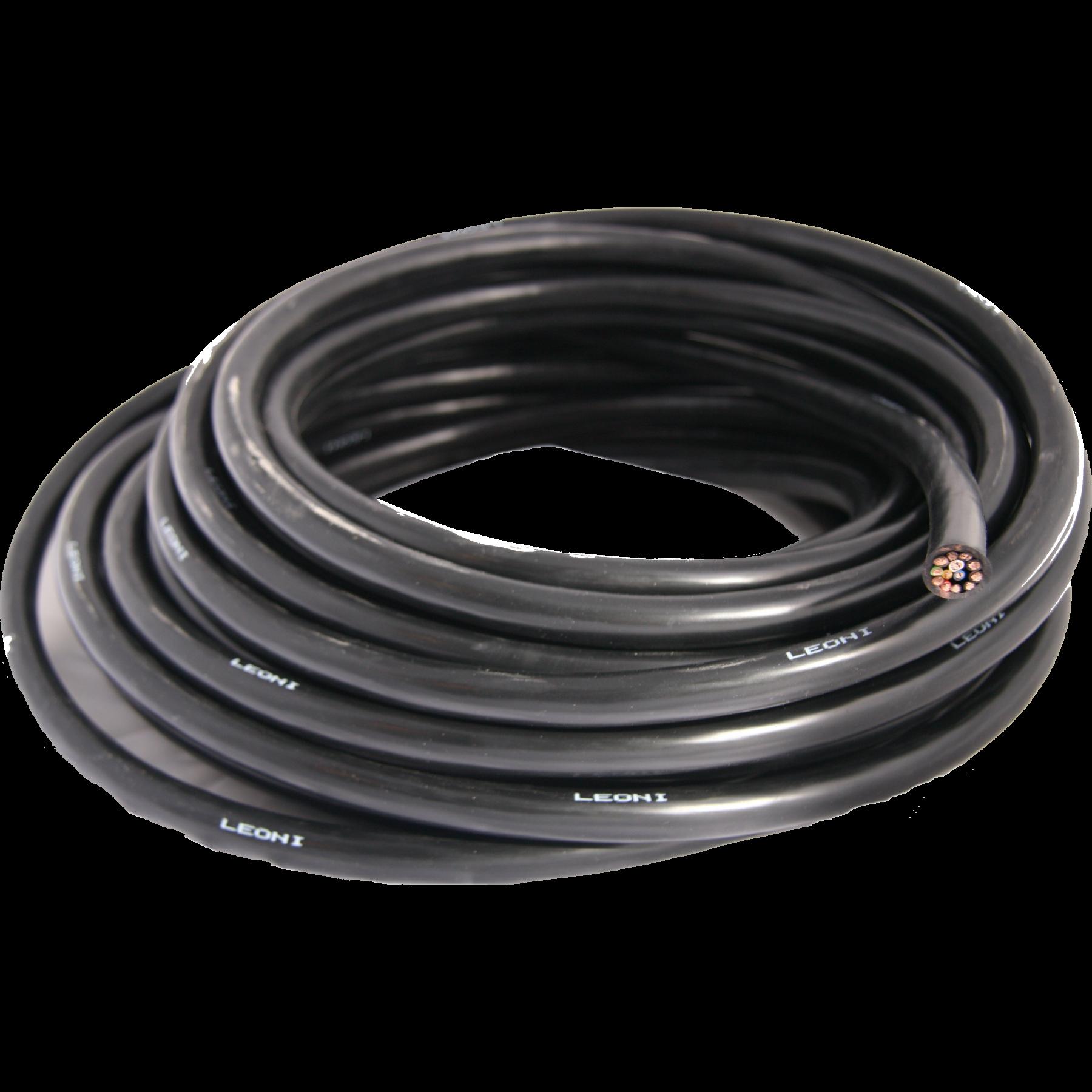Kabel 13 aderig per meter 9x1,5/4x2,5