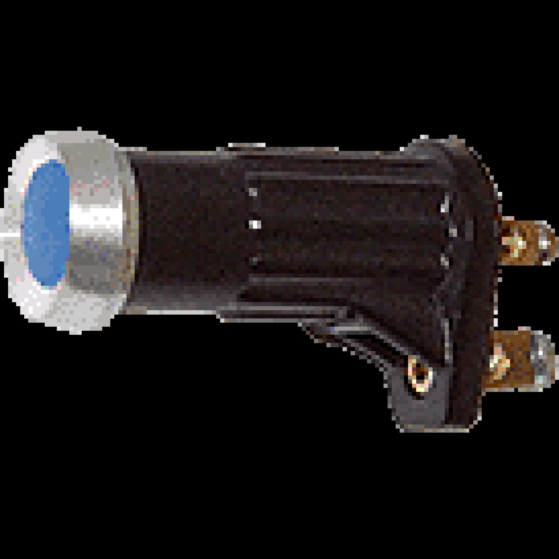 Controlelamp blauw (schroef)