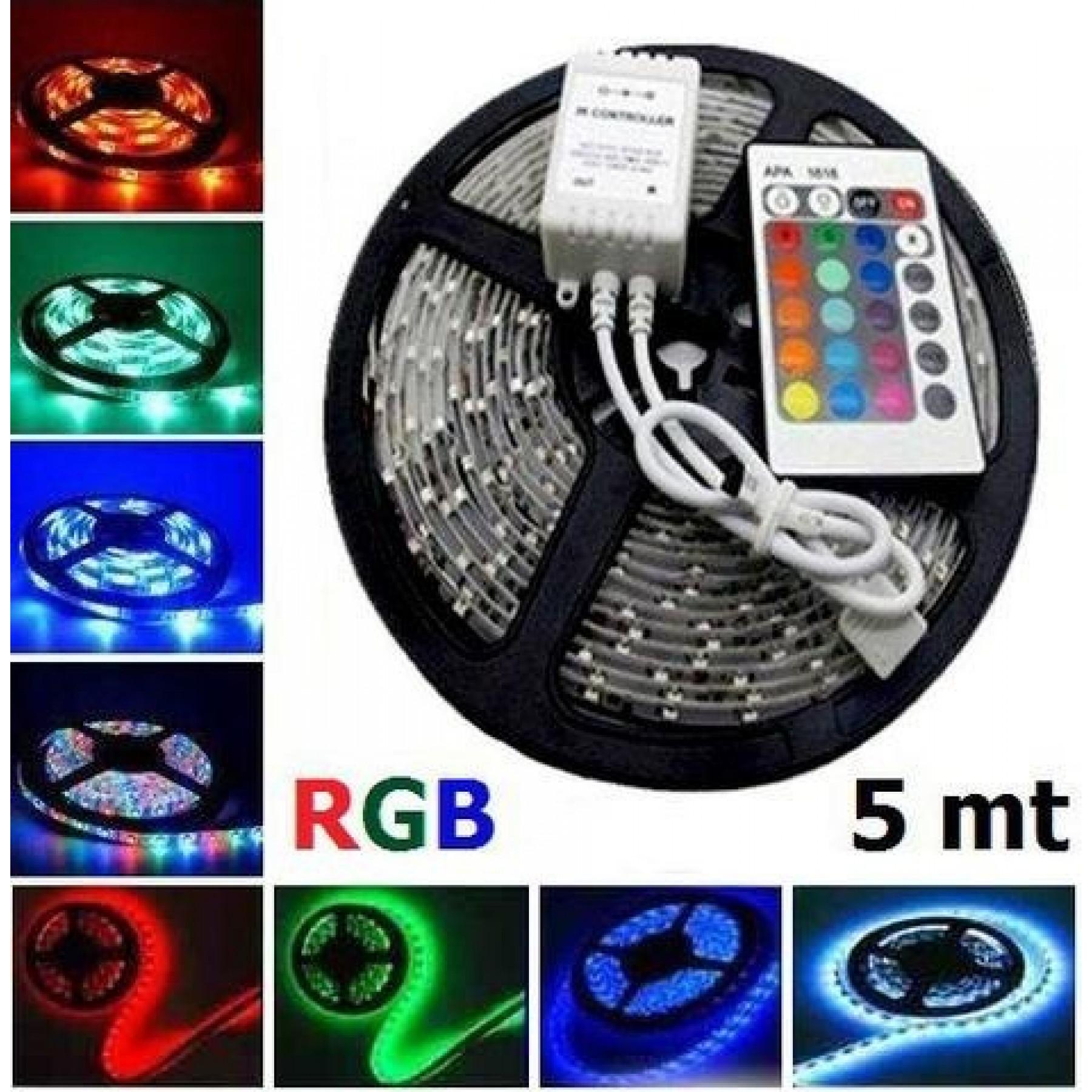 LED strip 4,8W 60LEDs/m RGB 5m 12V