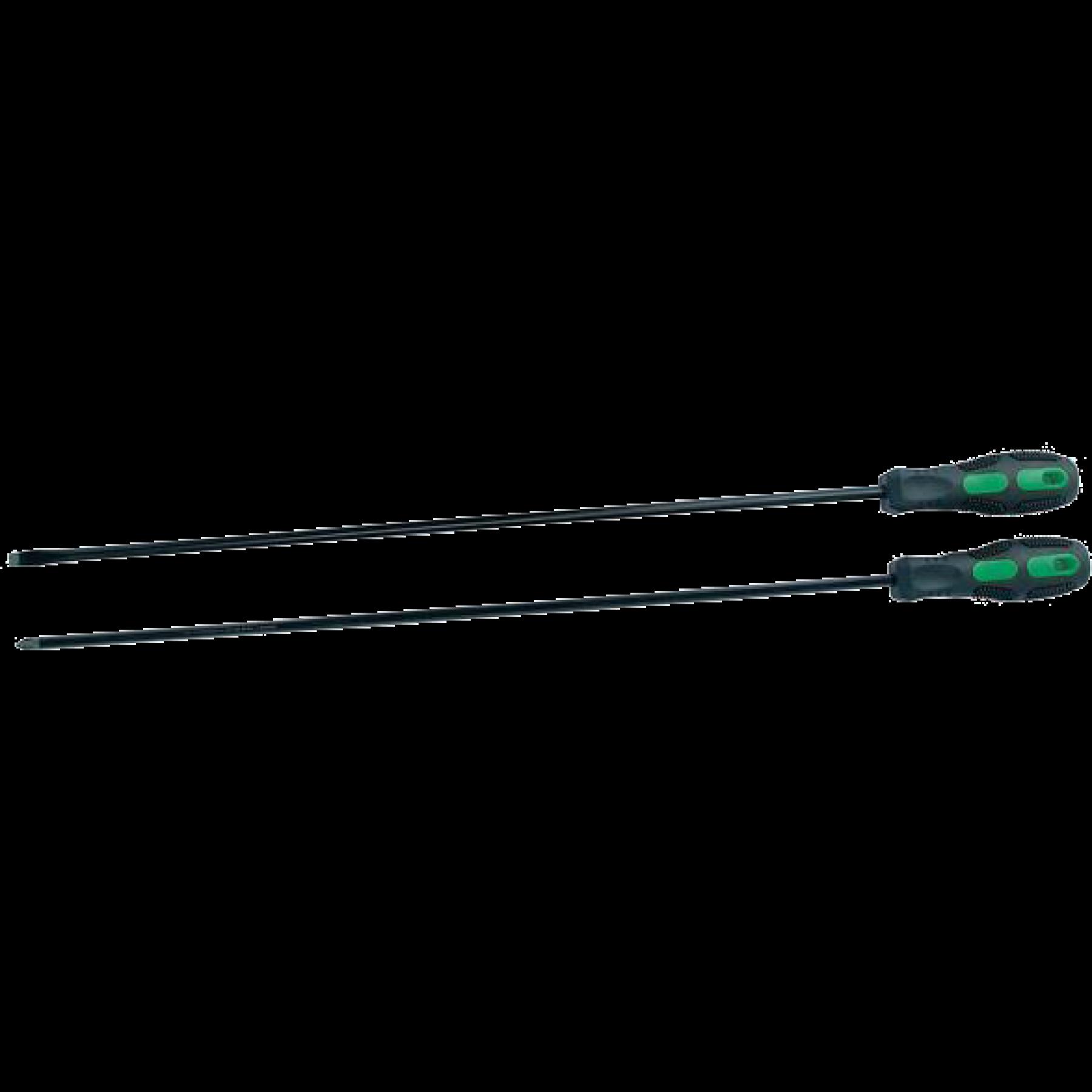 Schroevendraaier set 45cm 2 delig ster/plat