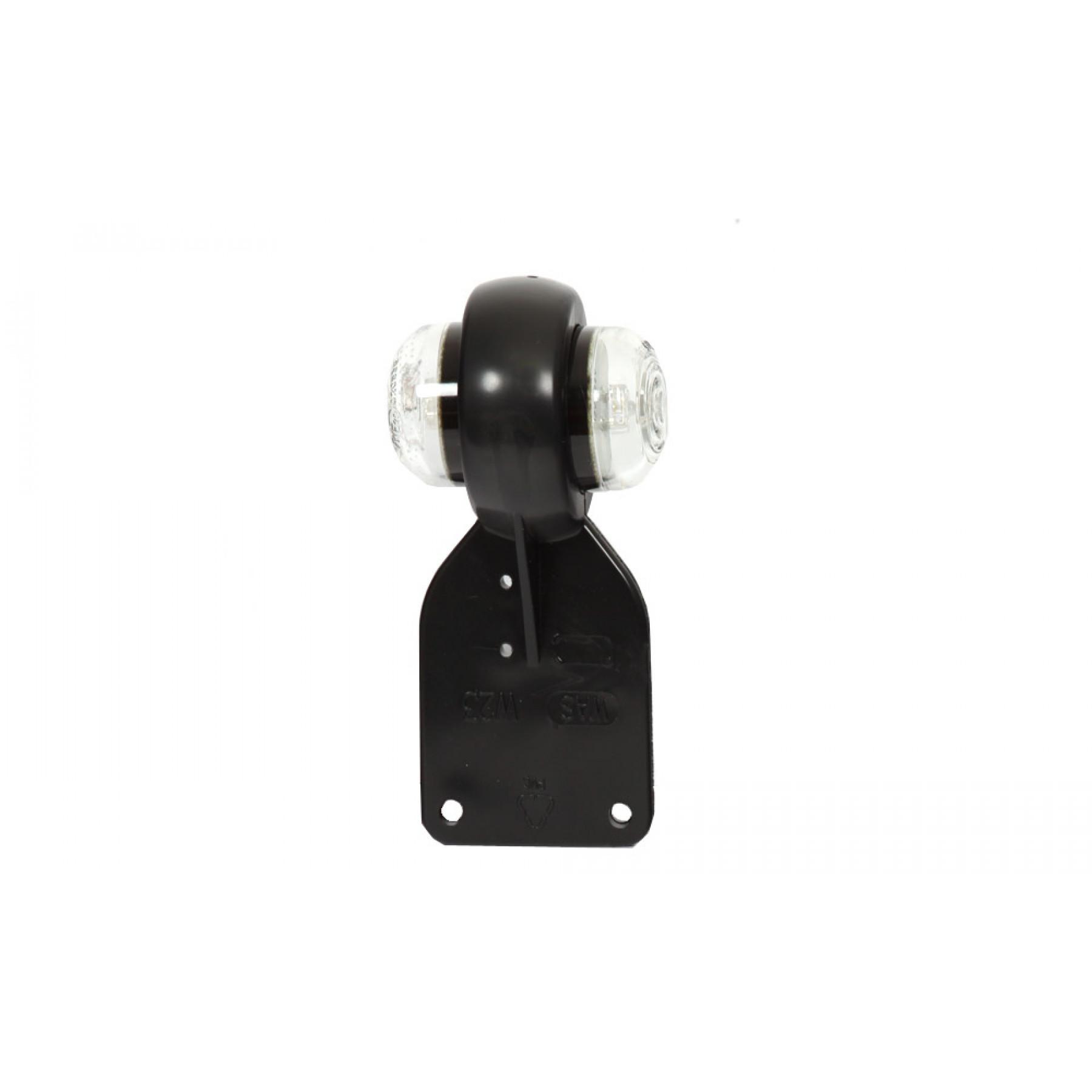 Markerings-breedtelamp 12/24v LED rond met steun
