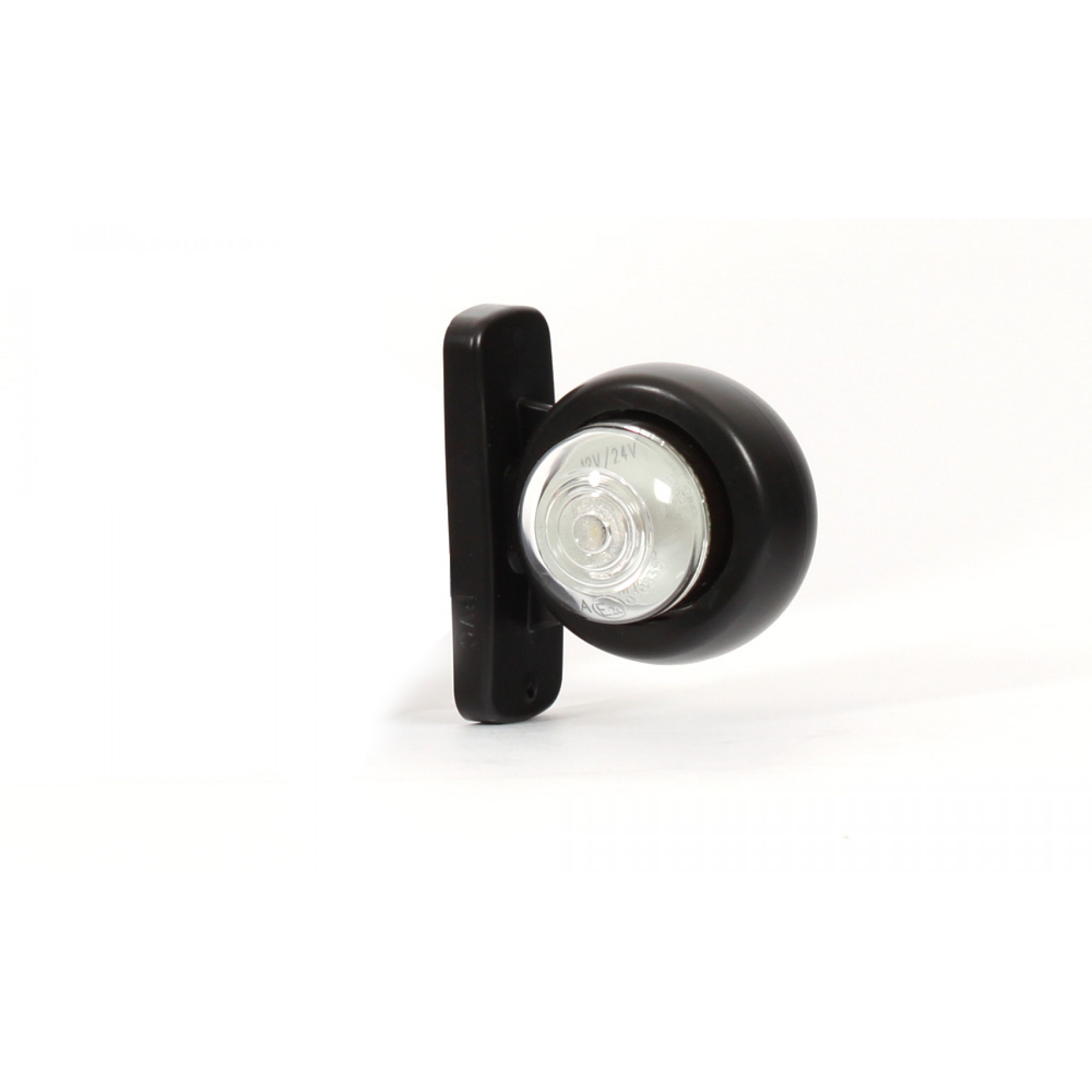 Markerings-breedtelamp LED rond kort 12/24v