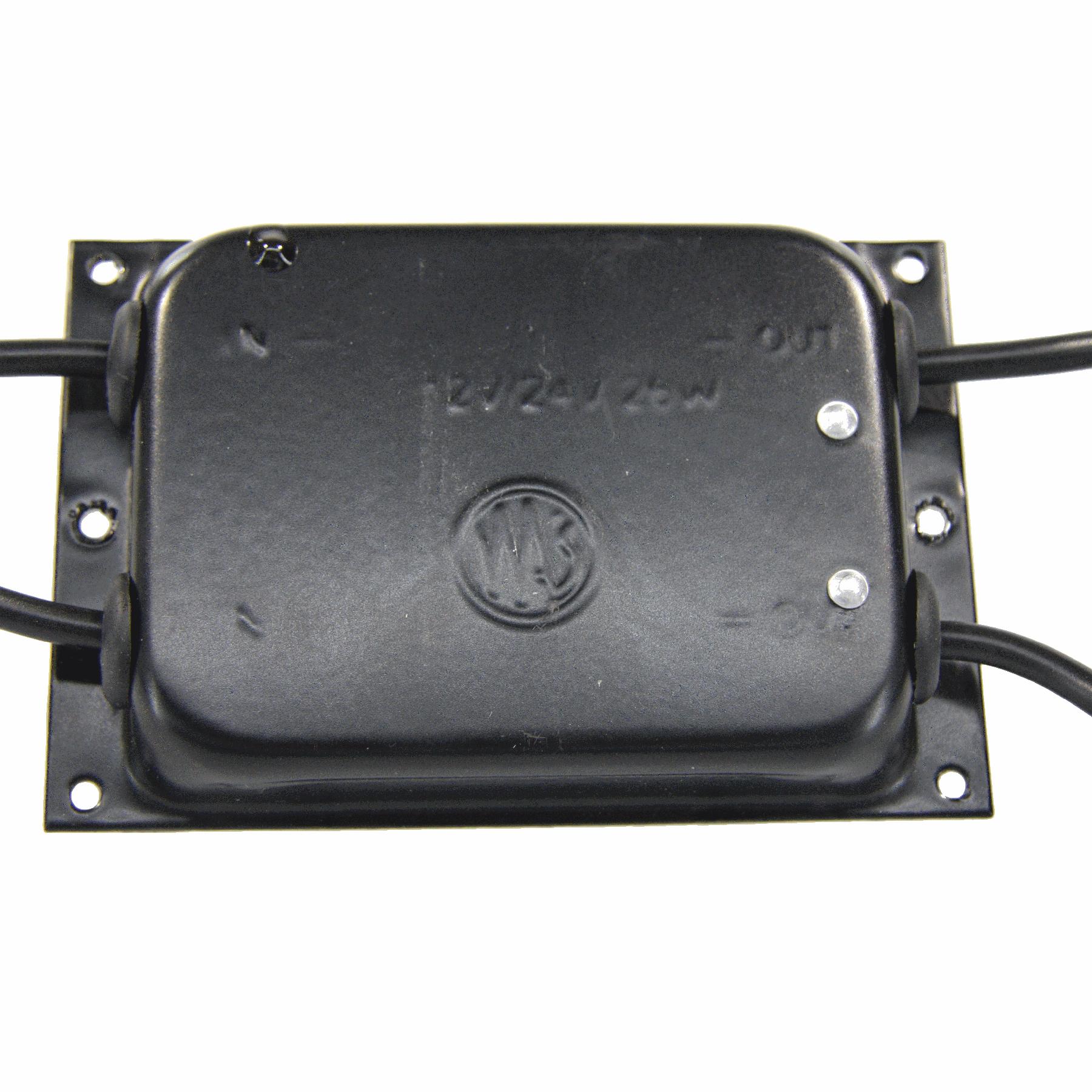 LED weerstand module dual 12/24V waterdicht