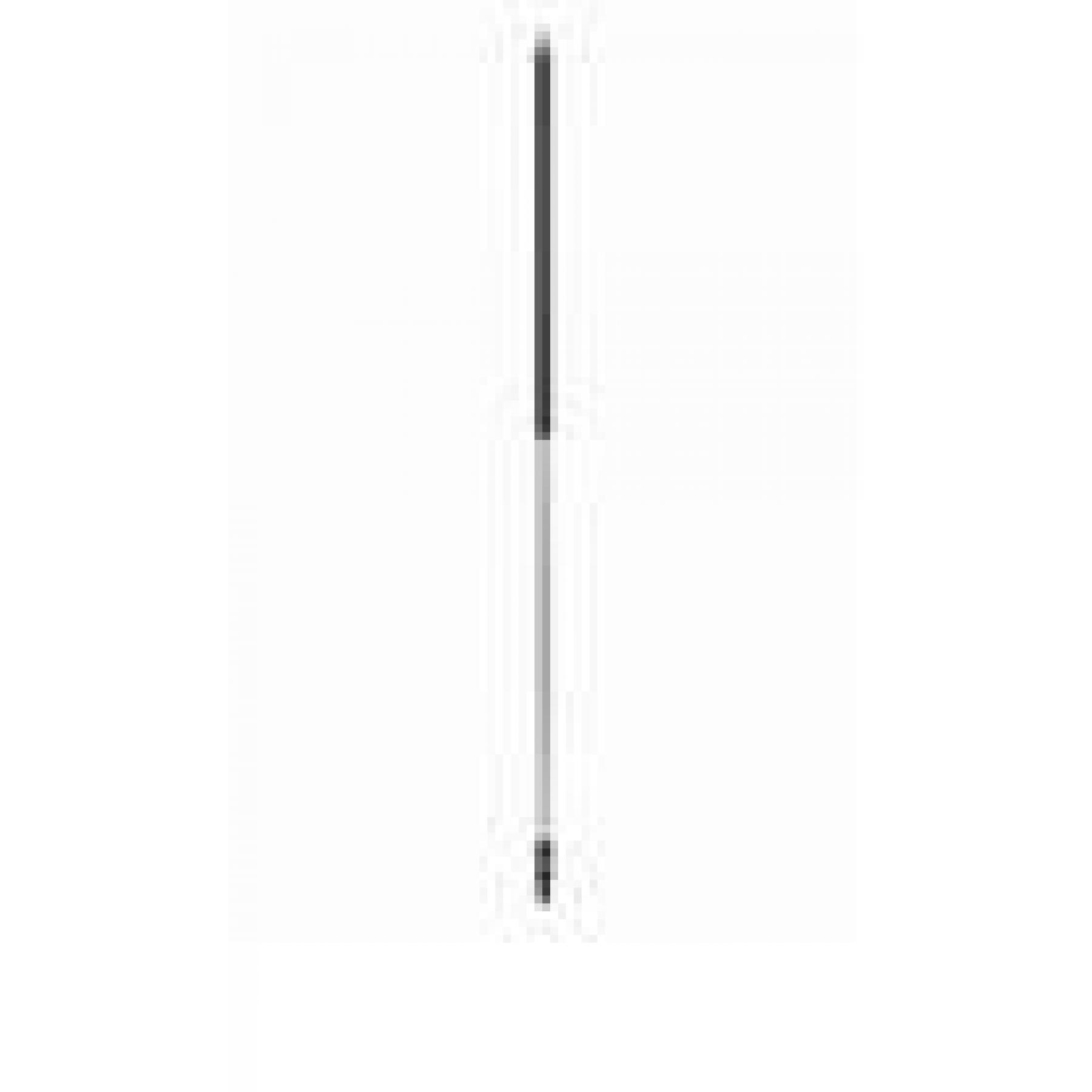 Ergonomische steel waterdoorvoer 190cm