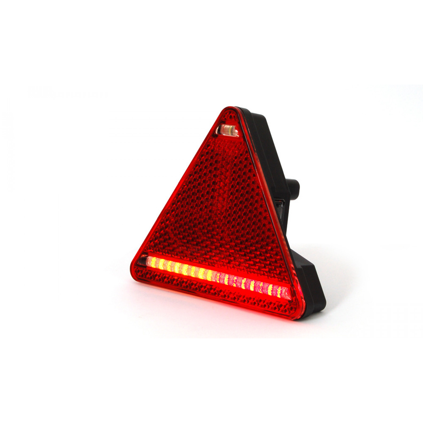 Driehoek achterlicht LED kabel 1,5 mtr. links
