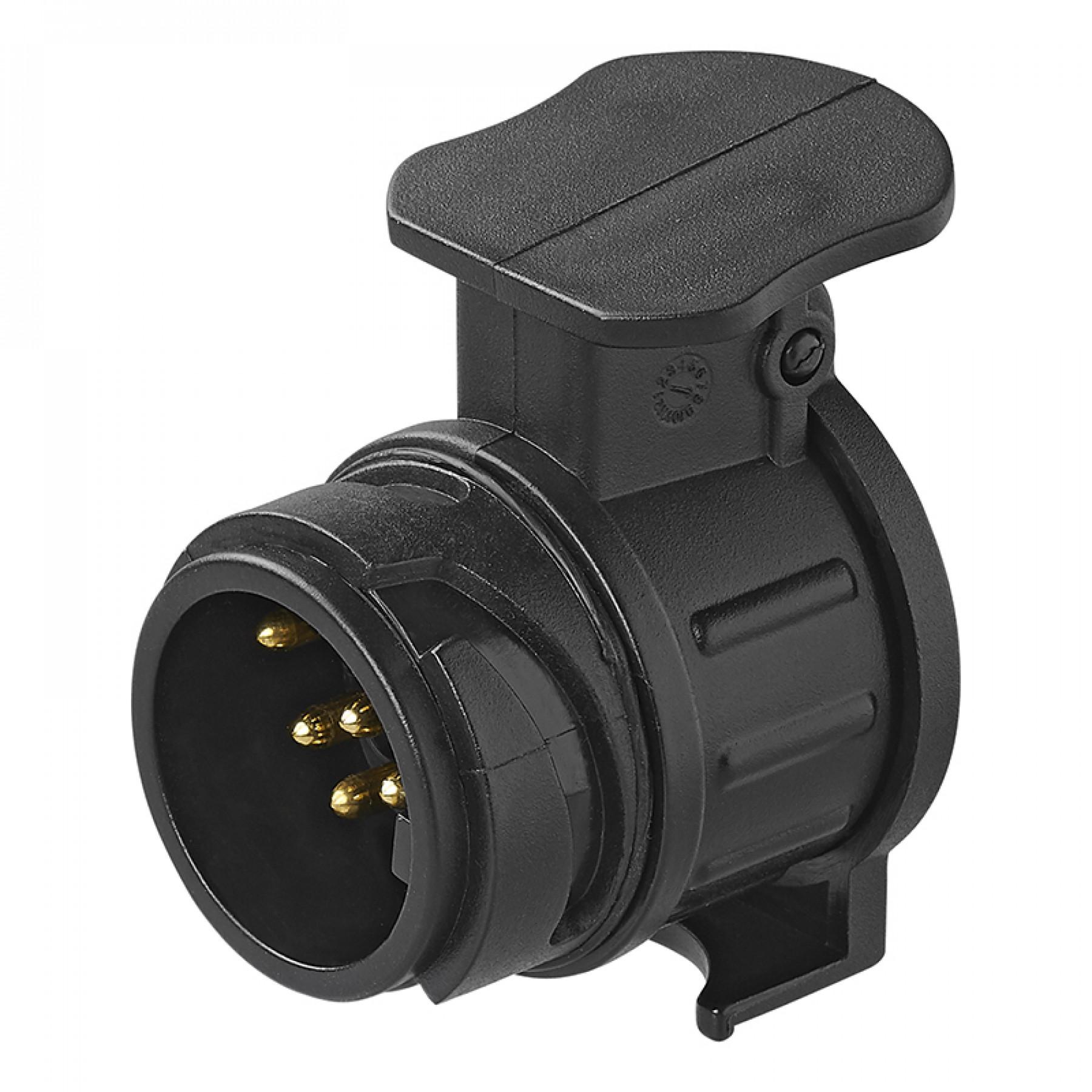 Verloopstekker/adapter 13-polig > 7-polig kort blister