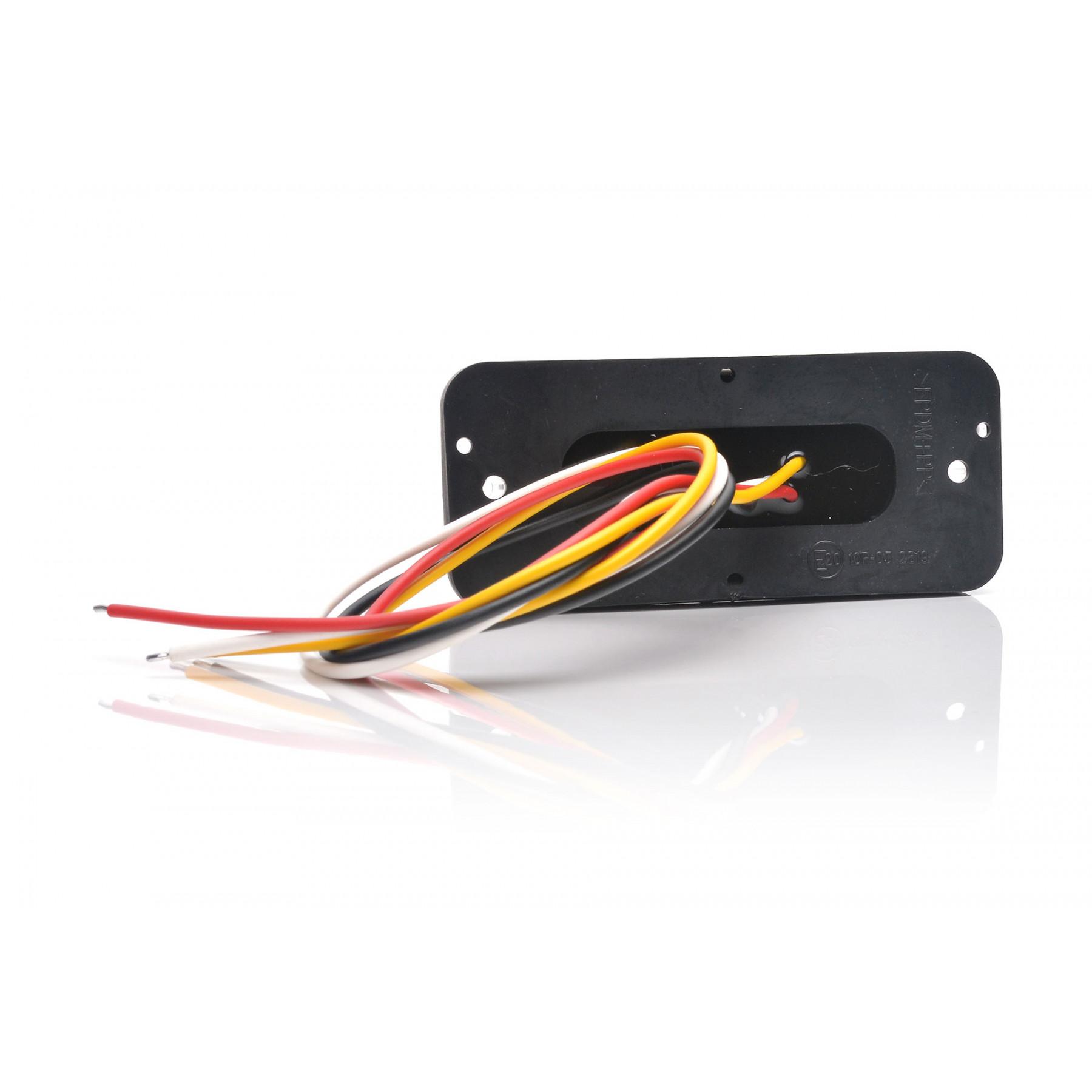 Achterlicht LED 3 functies 107,4x46,7x23mm