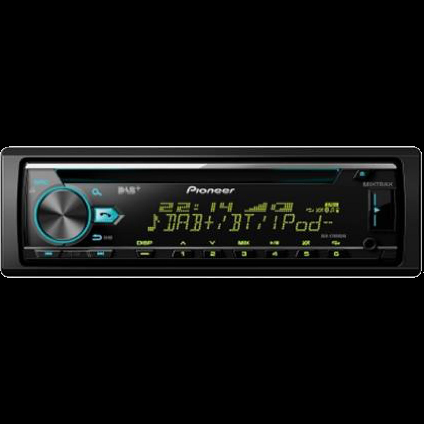 Pioneer DEHX7800DAB radio digitaal cd/usb/Bleutooth
