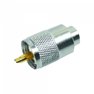 Aansluitmateriaal voor 27 MC (Antenneplug)