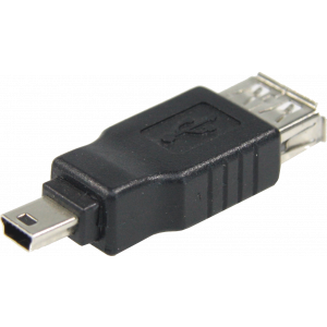 USB Adapter USB naar Mini USB