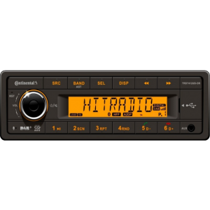 VDO Radio USB/BT/DAB 12v TRD7412UB-OR