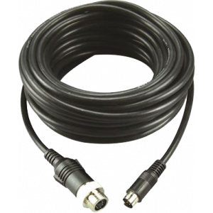 Cable 10m, mini DIN male -> waterproof female standard