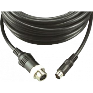 Cable 2.5m, mini DIN male -> waterproof female standard