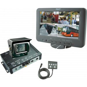 "PSVT 7"" TFT LCD Splitscr. Rear View System"