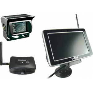 "PSVT 7"" TFT LCD Rear View System Draadloos"